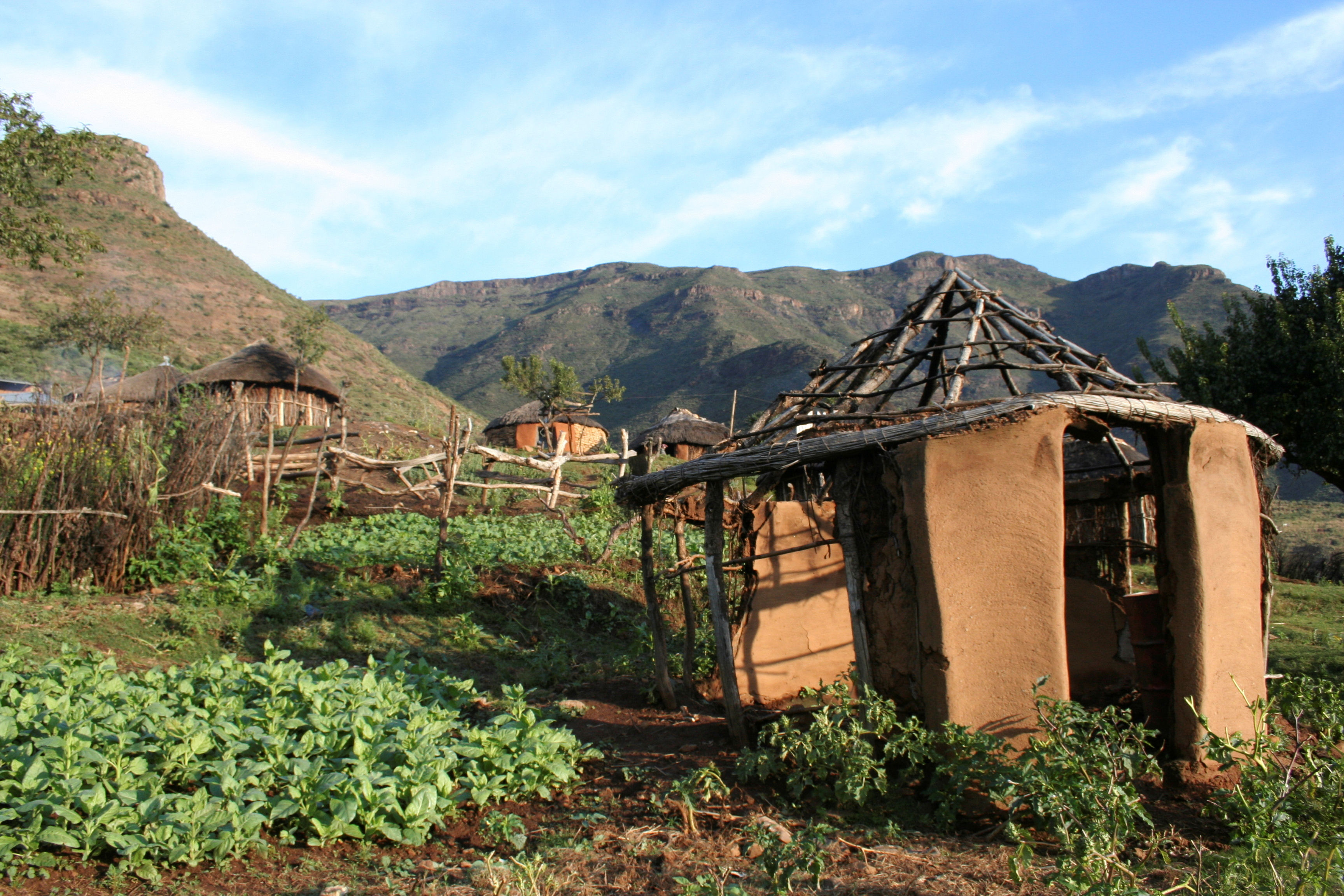 House in Lesotho