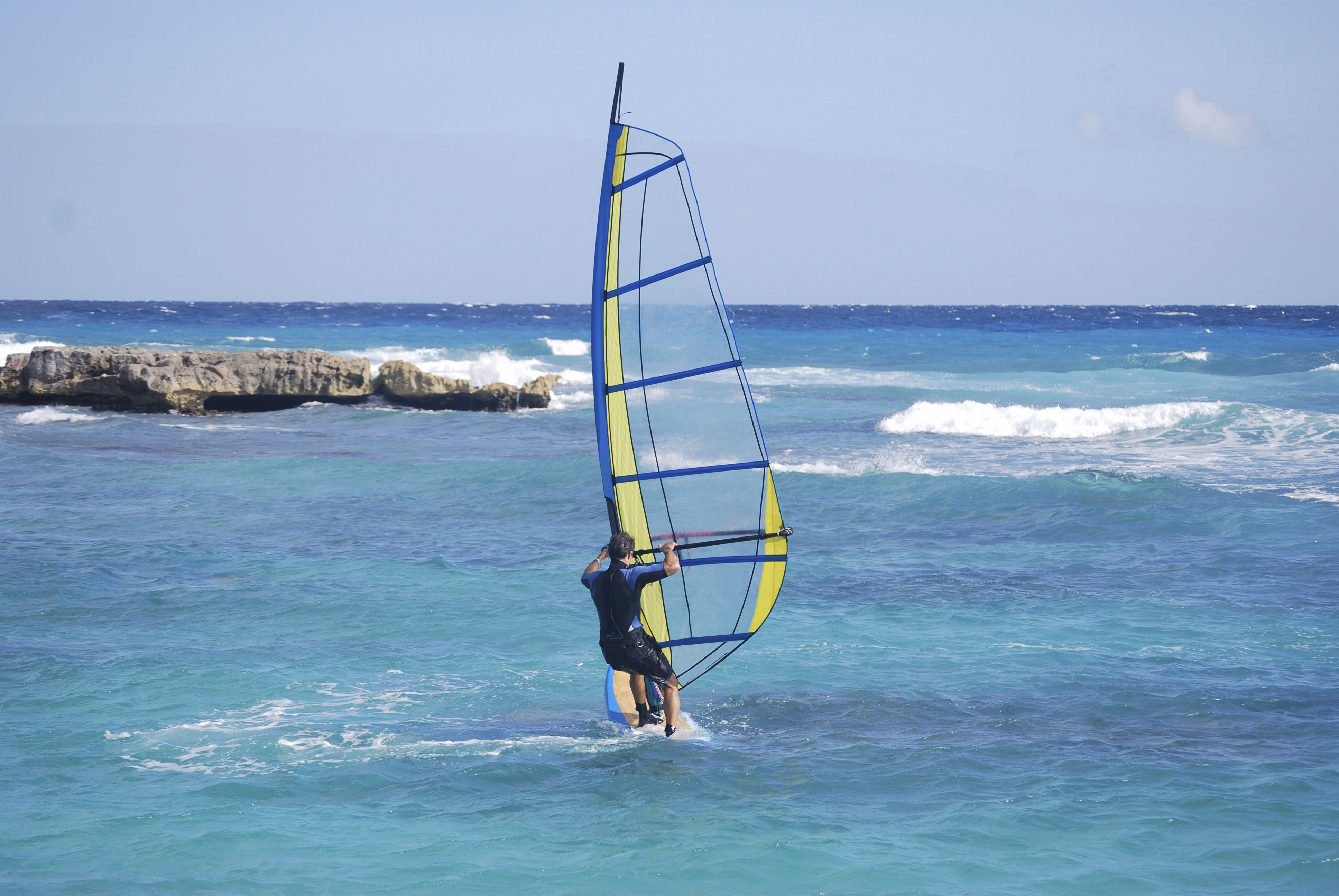 Barbados is great for watersports
