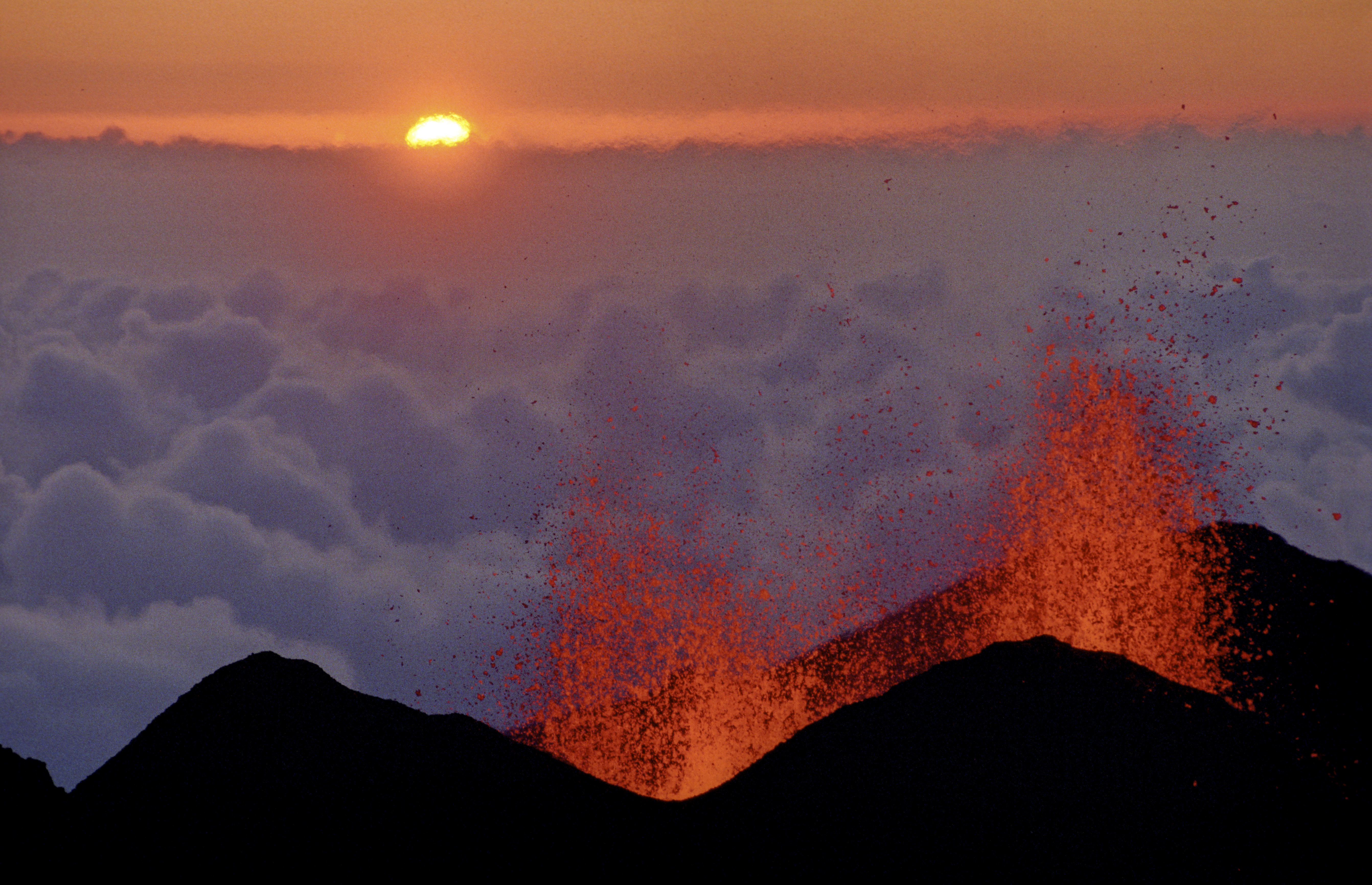 Volcanoes are a major attraction in Reunion