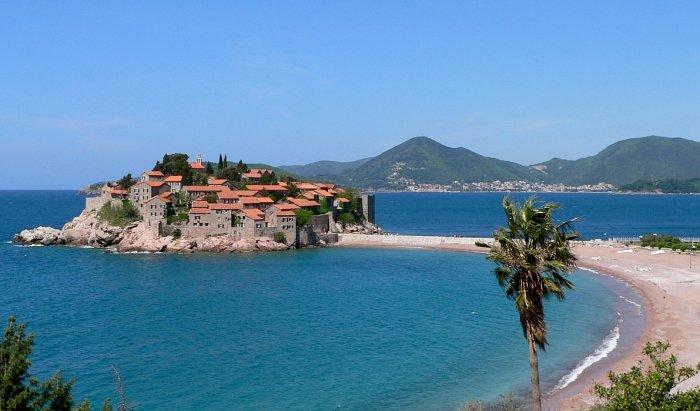 Sveti Stefan's island town