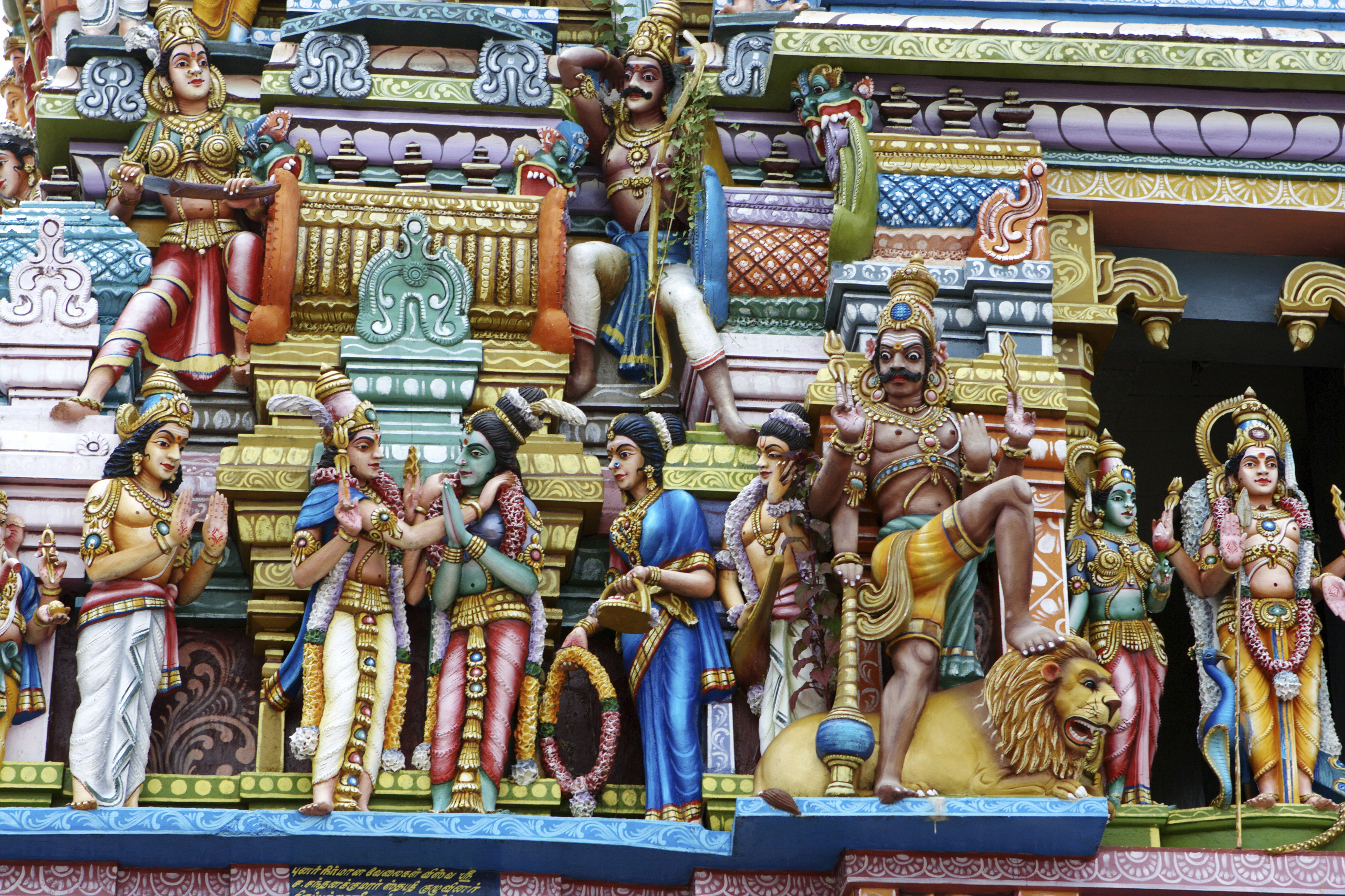Hindu temple in Sri Lanka's capital Colombo