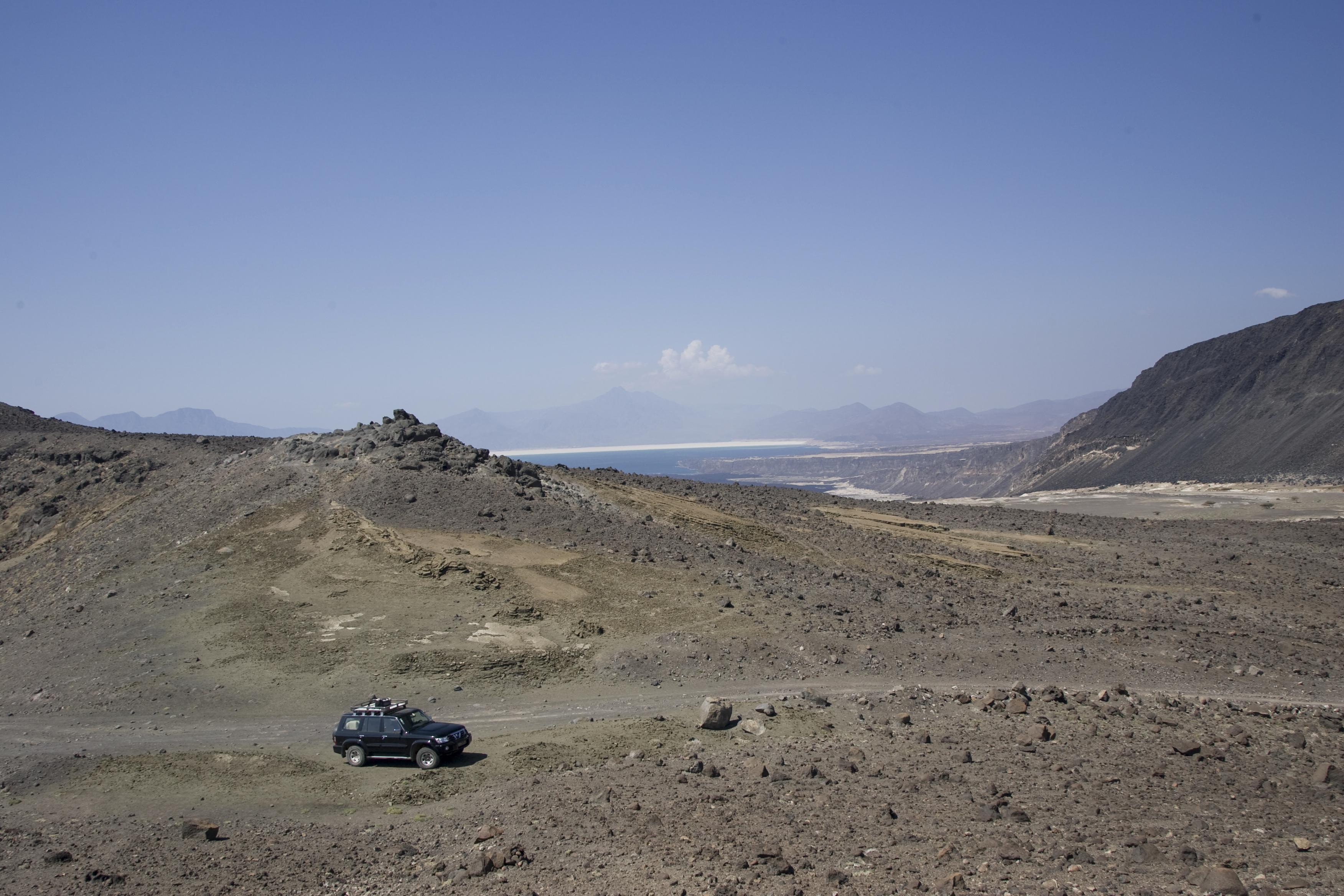 Lac Asal safarri, Djibouti