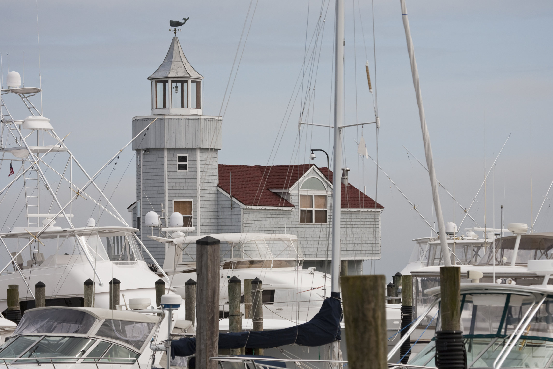 Old Saybrook Piers, Connecticut