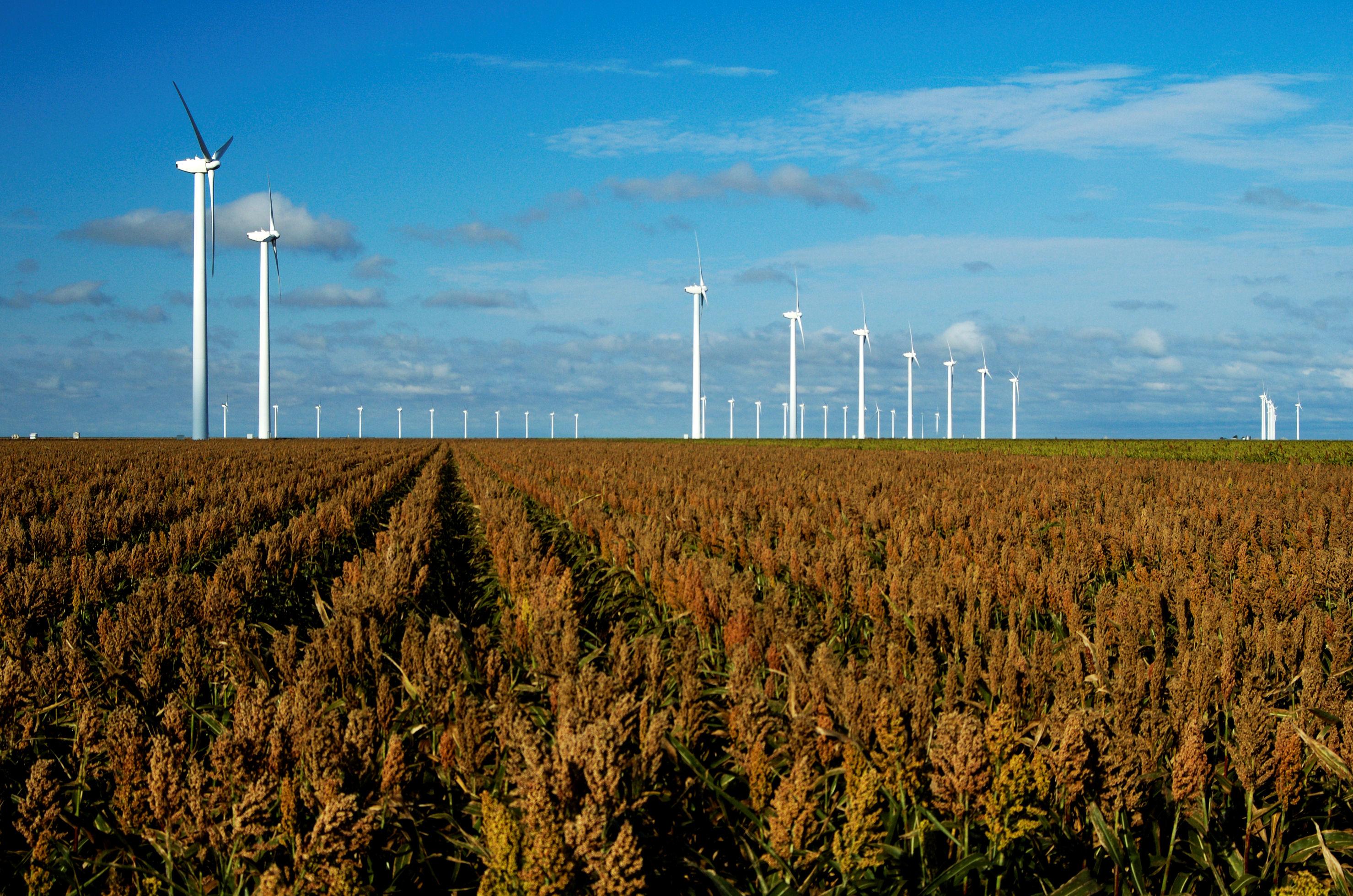 Wind turbines, Oklahoma