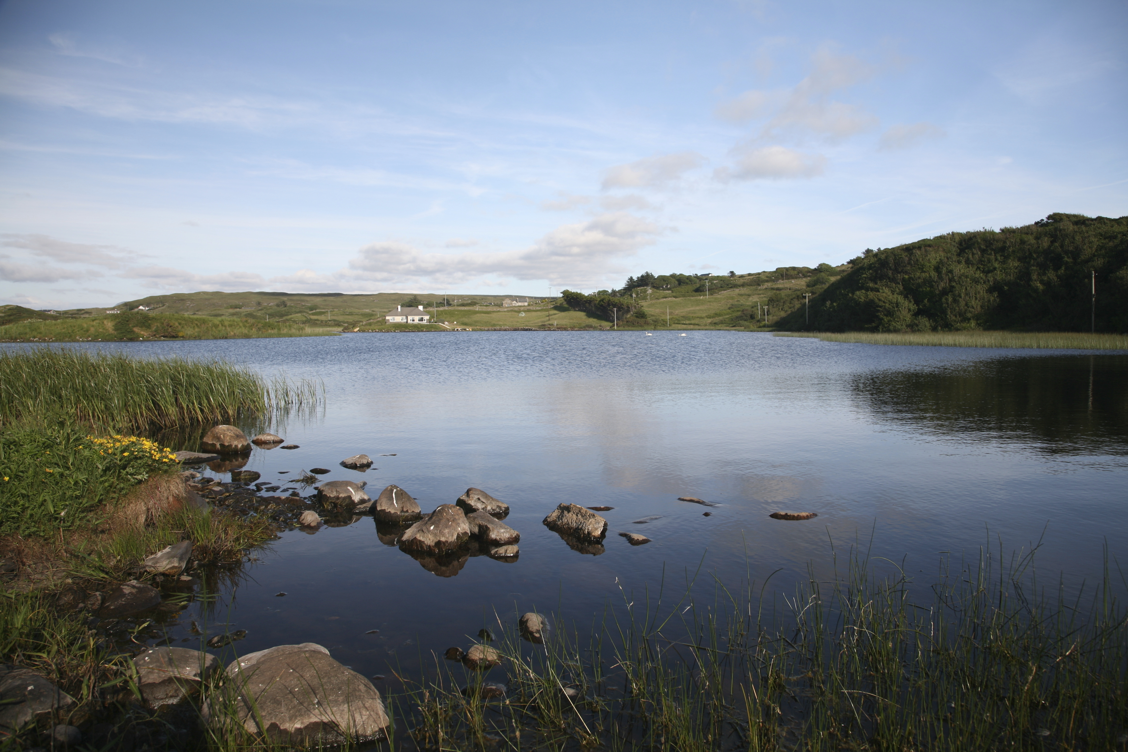 Northern Ireland is endowed with many lakes