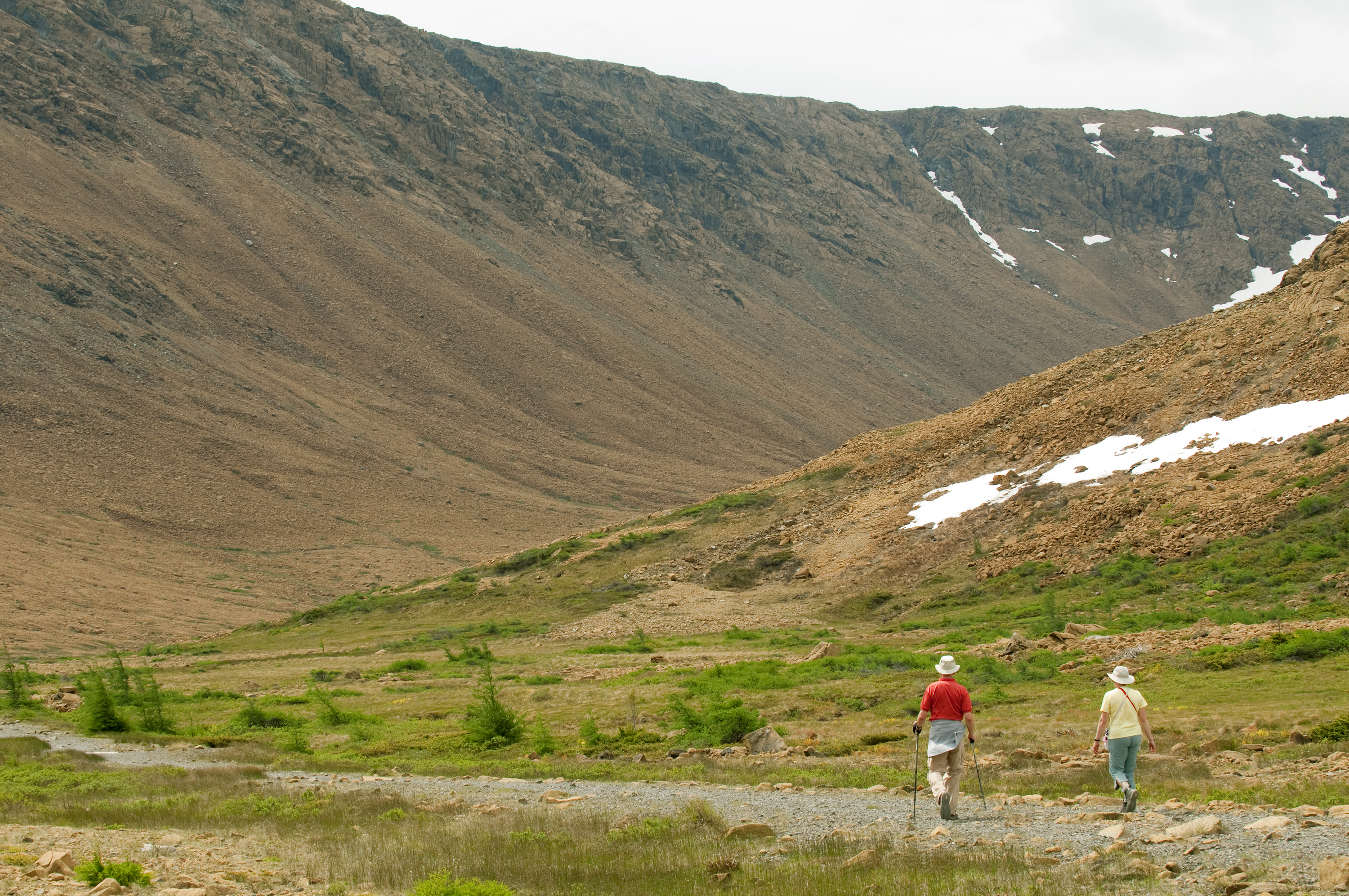 Hikers in Newfoundland