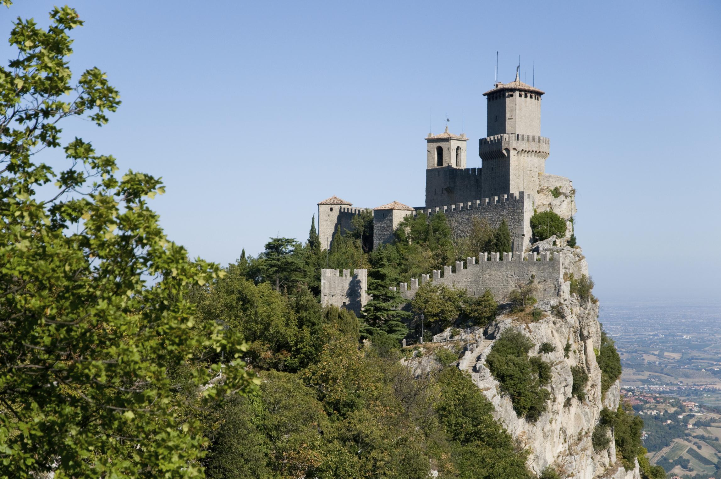 Castle Della Guaita, San Marino