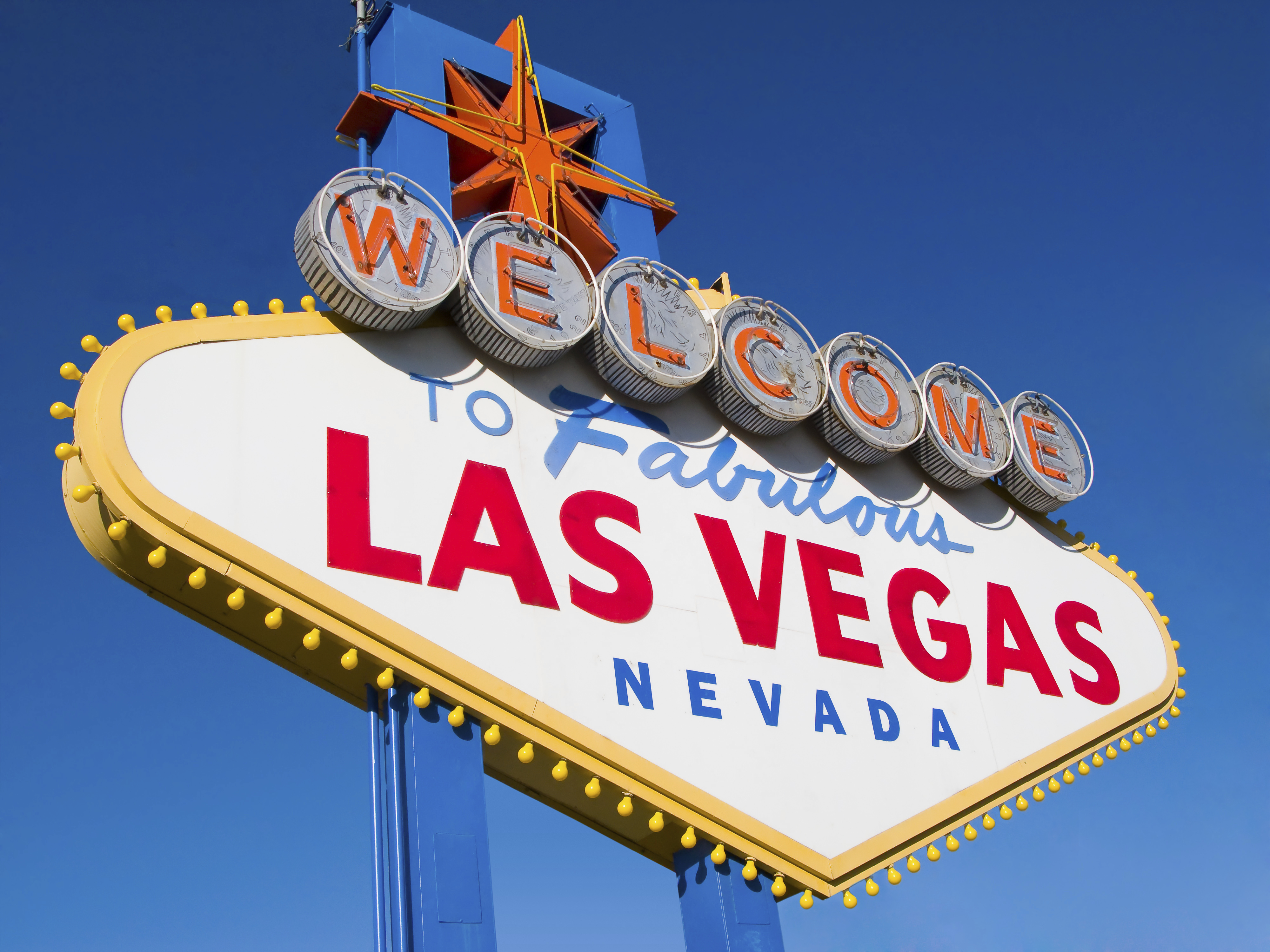 Las vegas is a gambling mecca in Nevada