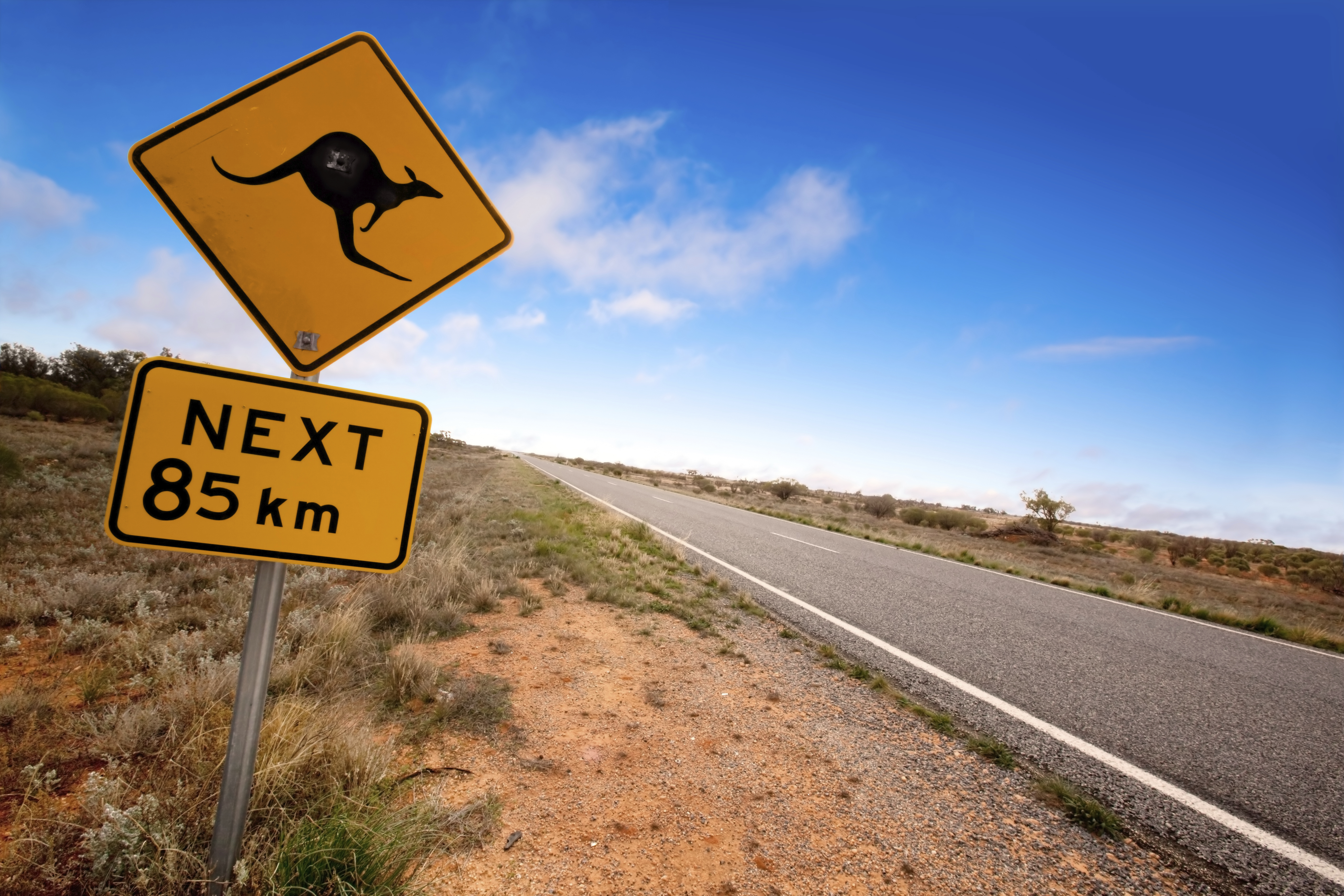 En route to Broken Hill, New South Wales