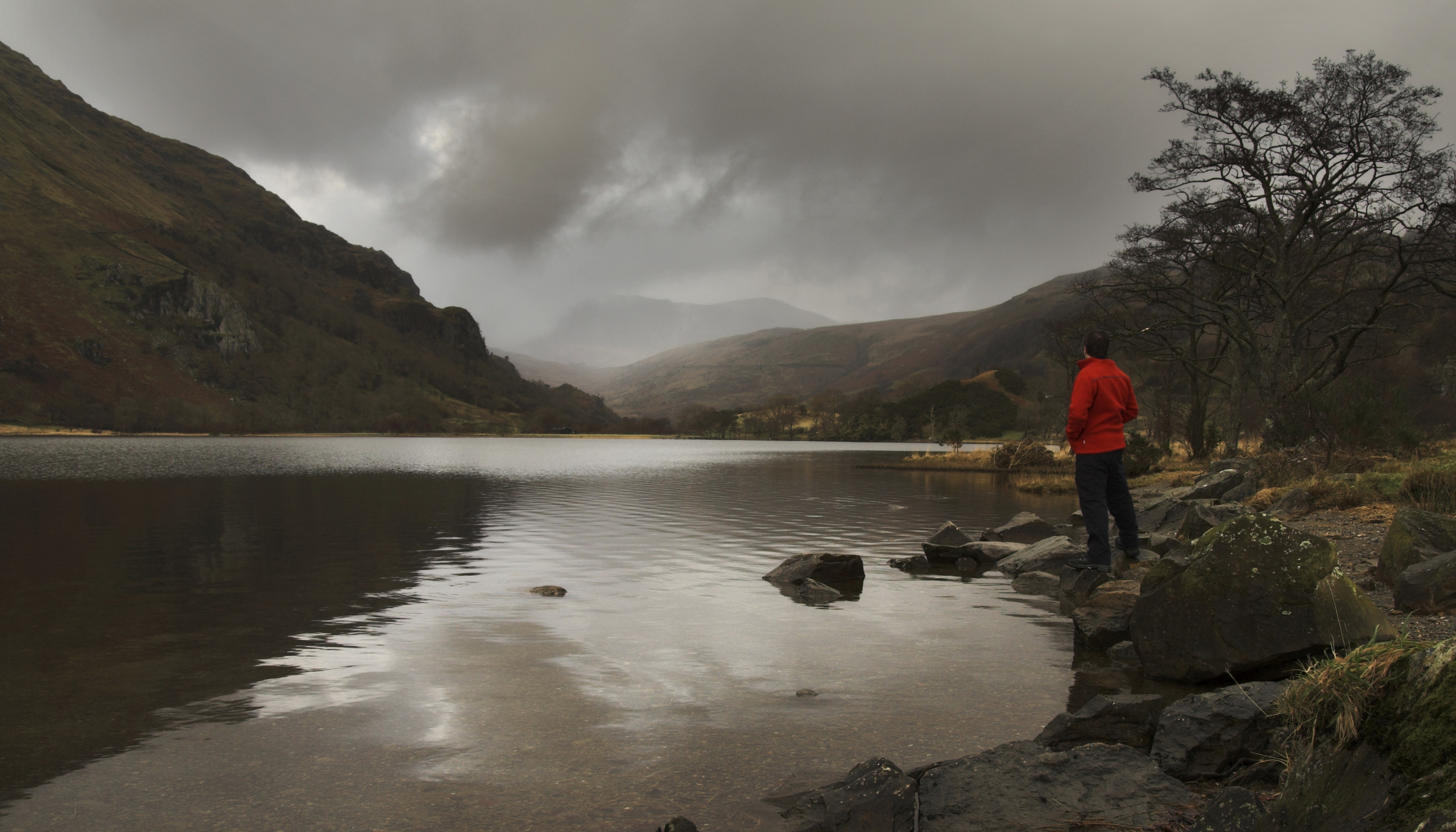 A lake in Brecon Beacons, Wales