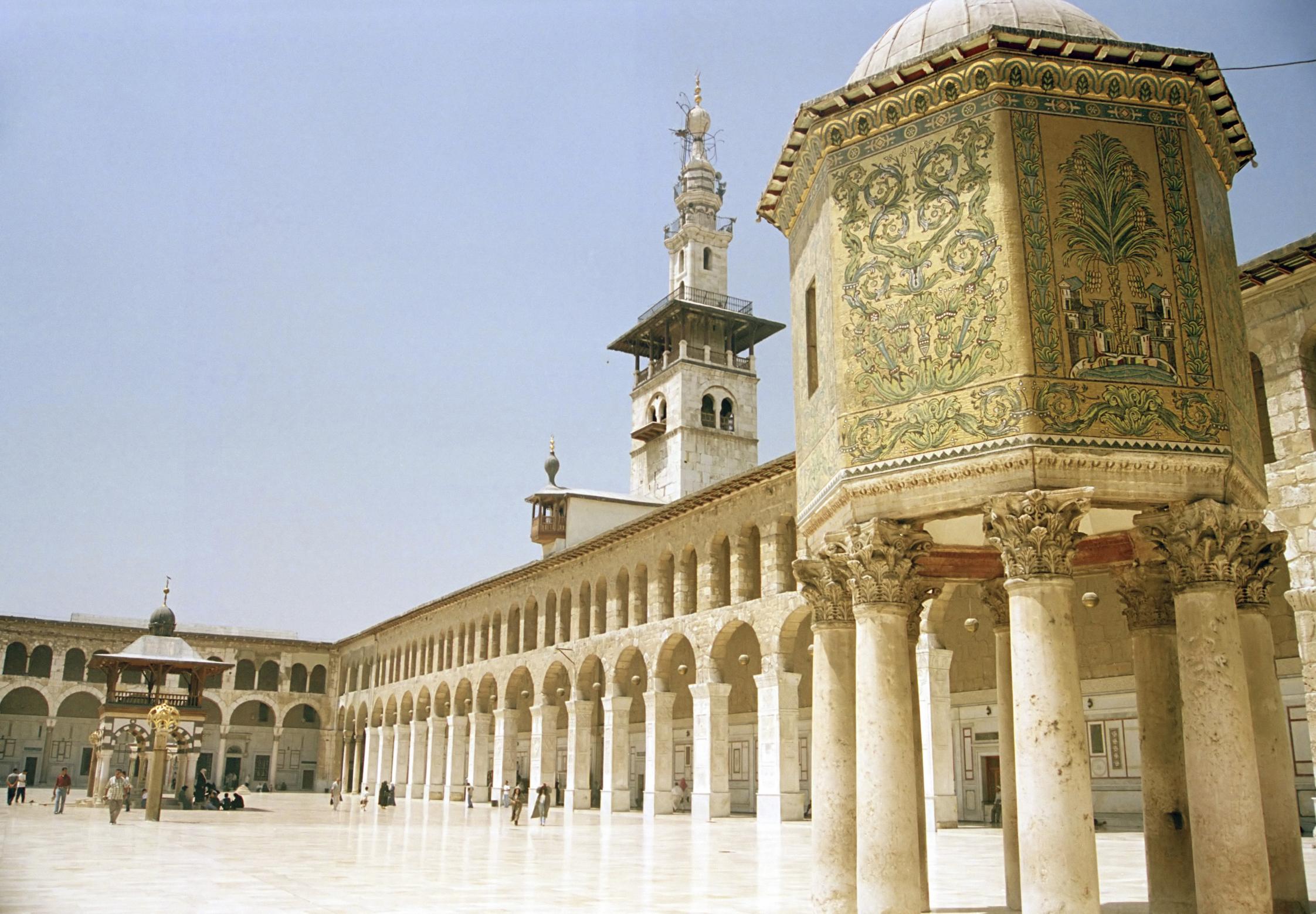 Ummayyad Mosque, Damascas, Syria