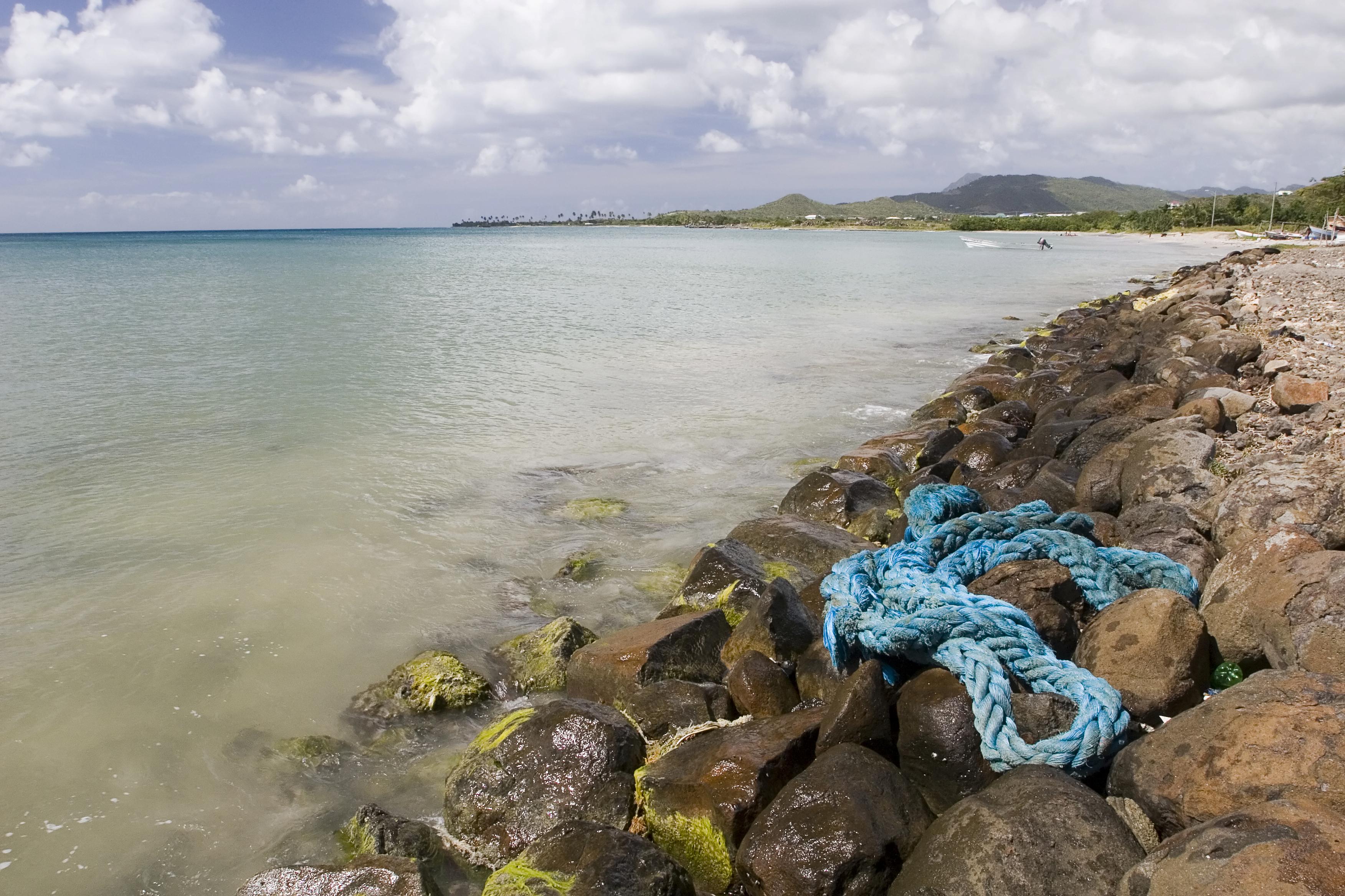 Coast at Laborie, St Lucia