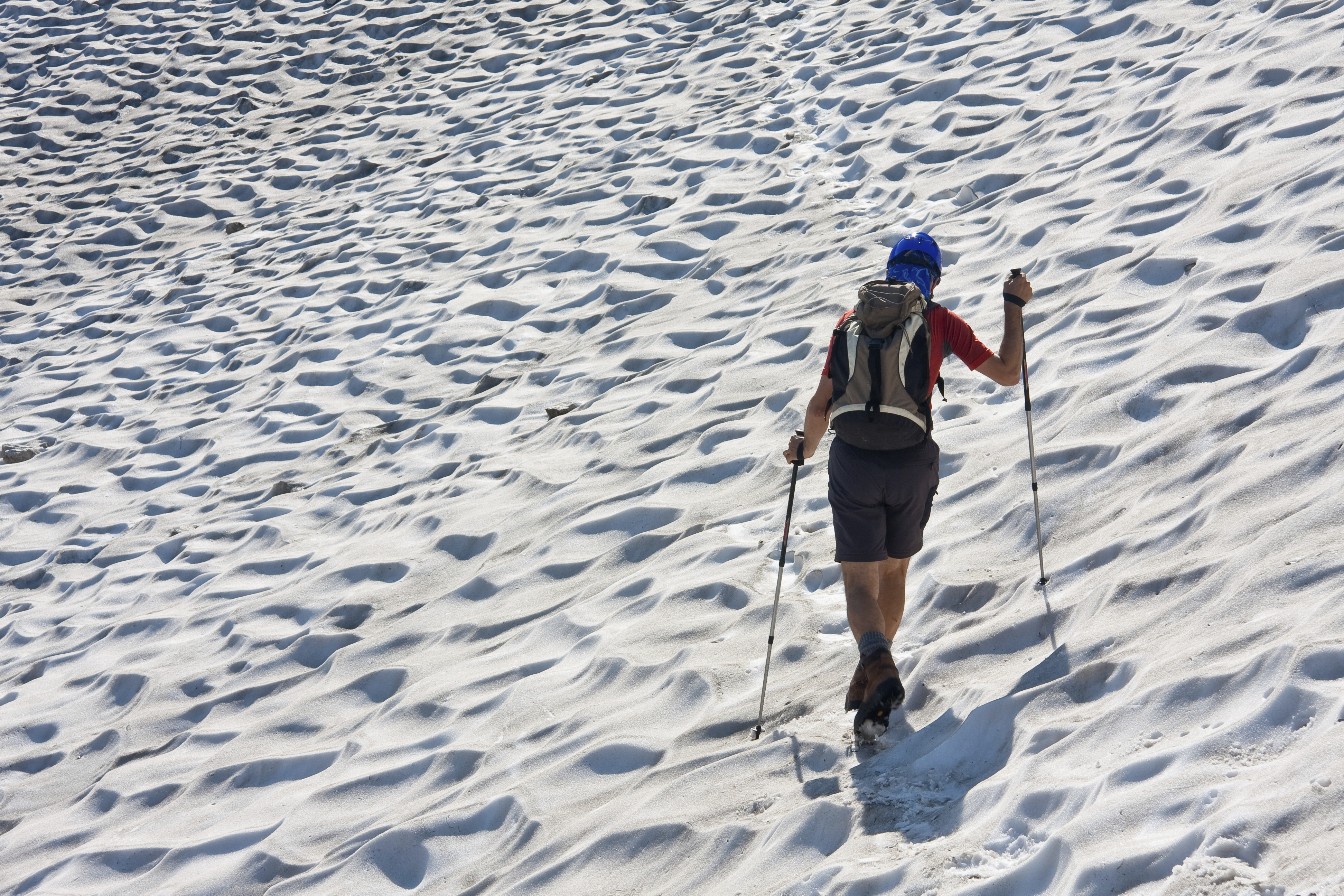 Walking on glaciers in Slovenia is a unique experience