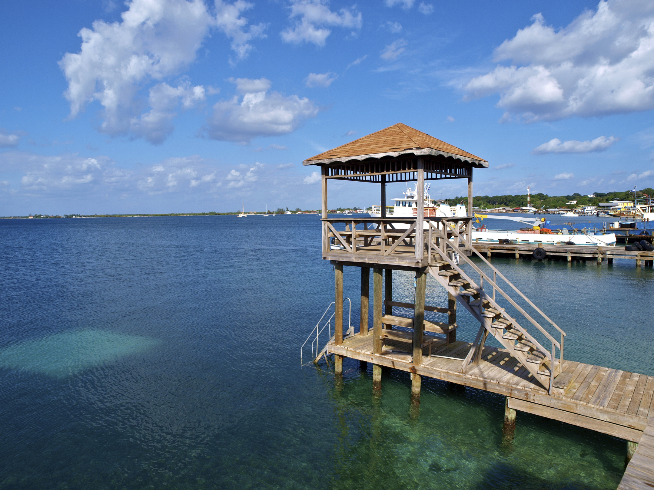 Utila Island, Bay Islands, Honduras