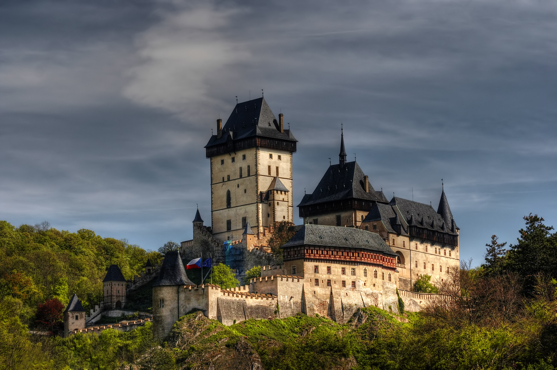 Karlstejn gothic castle, Czech Republic