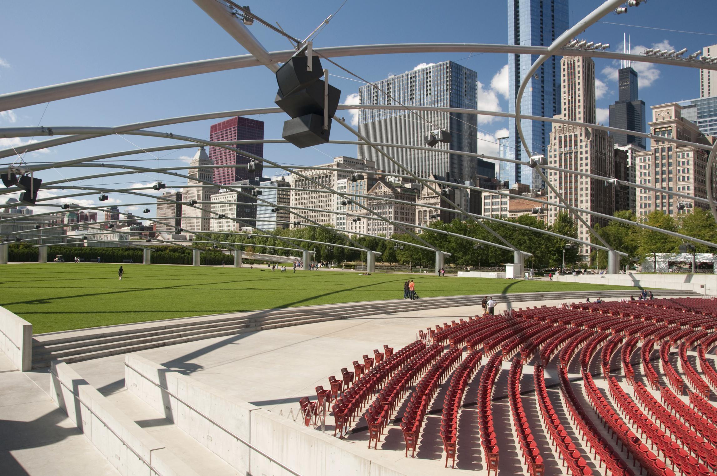 Millenium Park Theatre, Chicago, Illinois