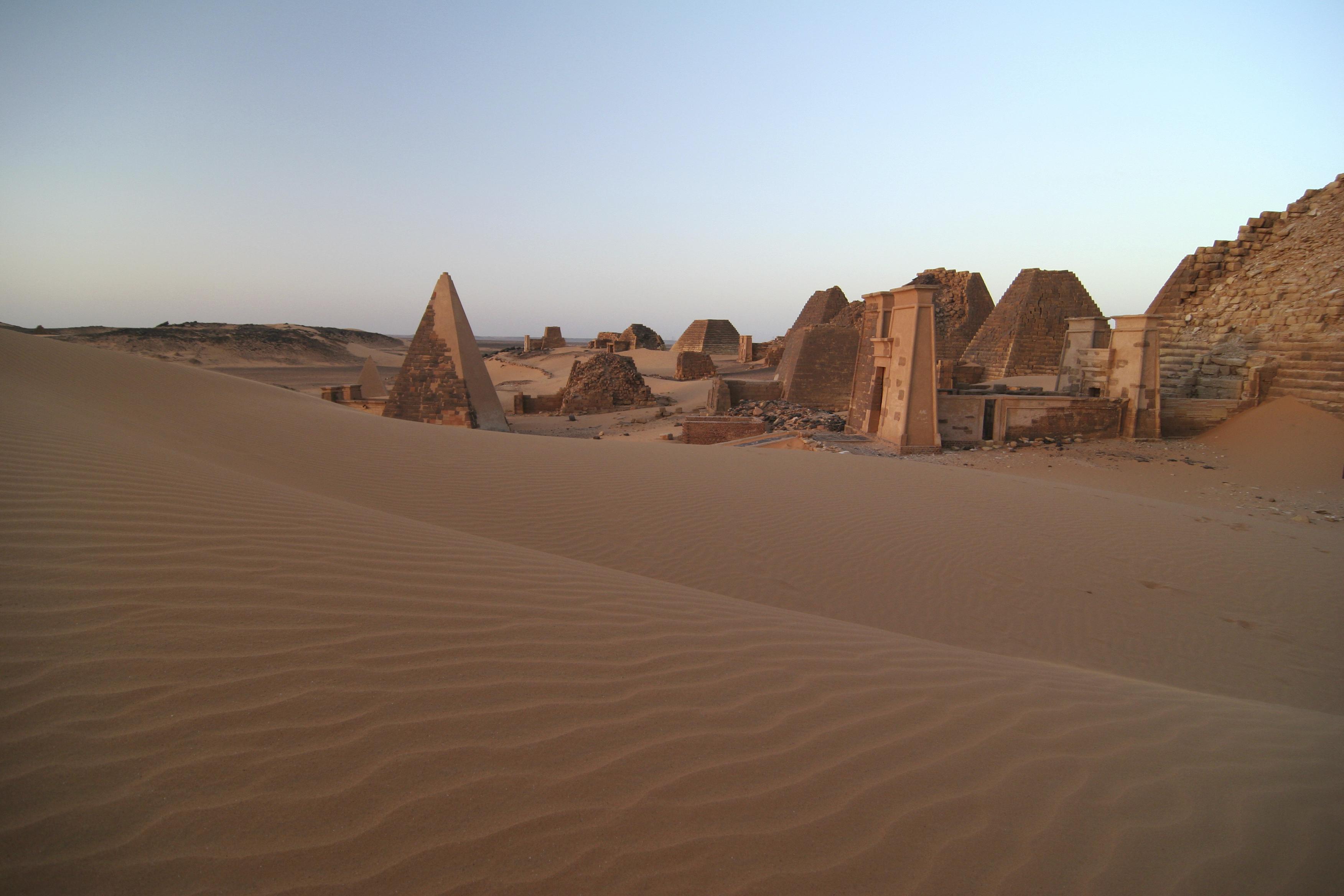 Desert Ruins in the Sudan