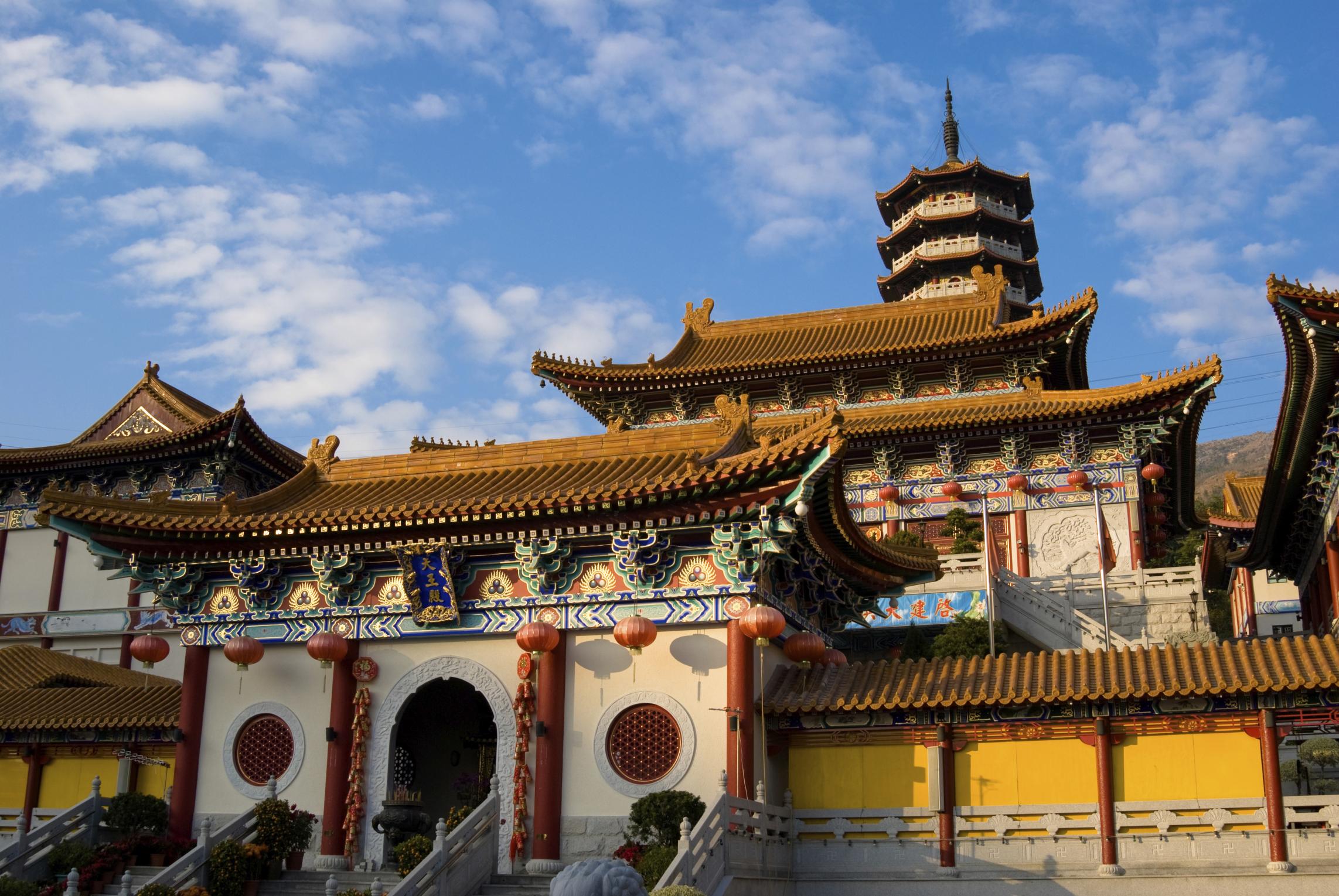 Traditional Chinese temple, Hong Kong