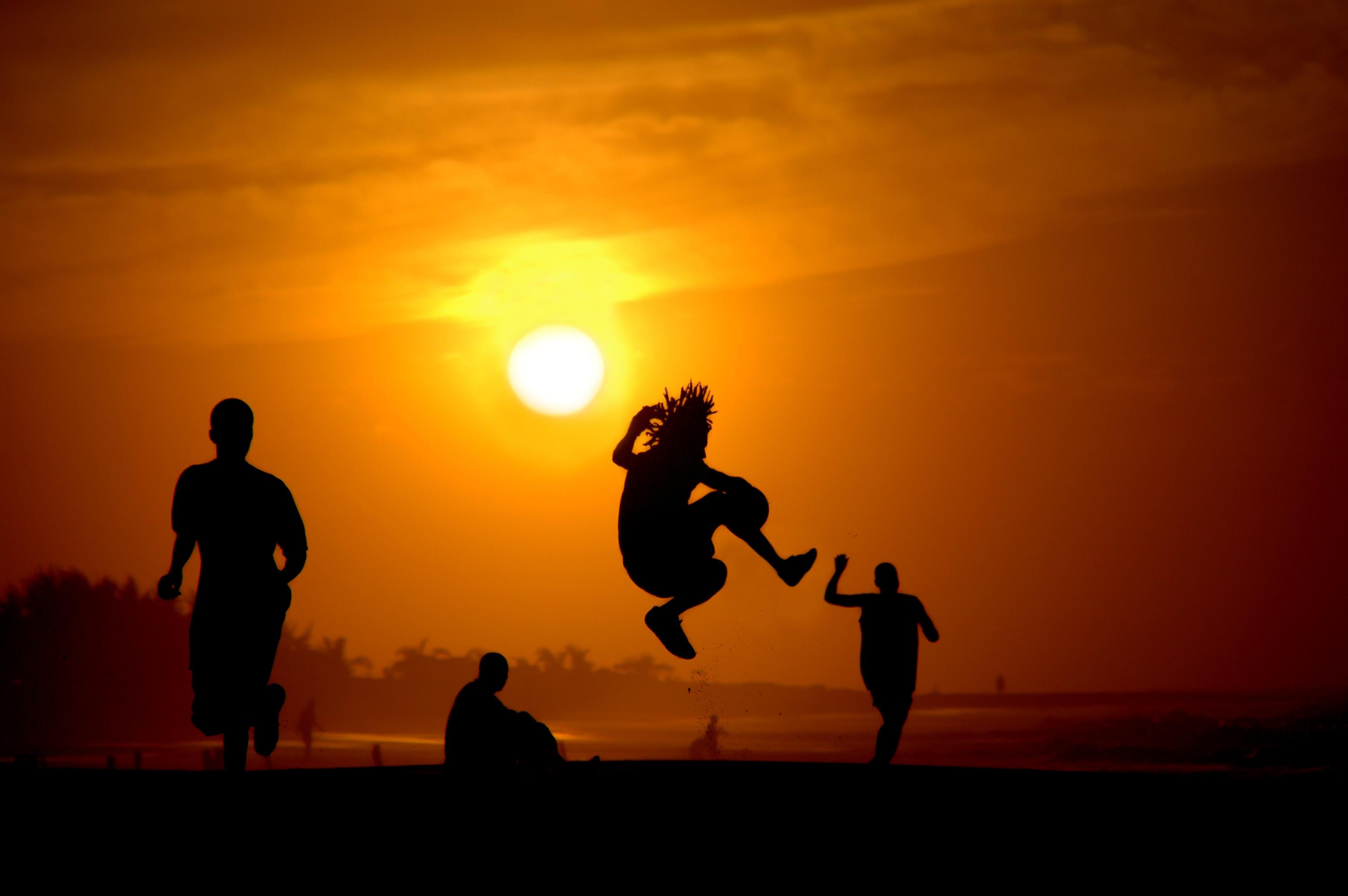 Football on the Gambian Coast