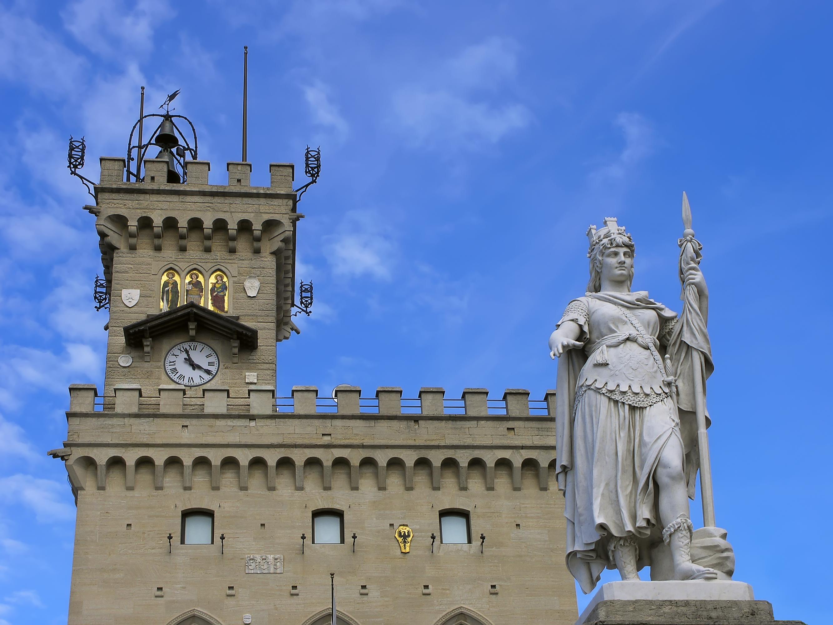 Statue of Liberty, San Marino