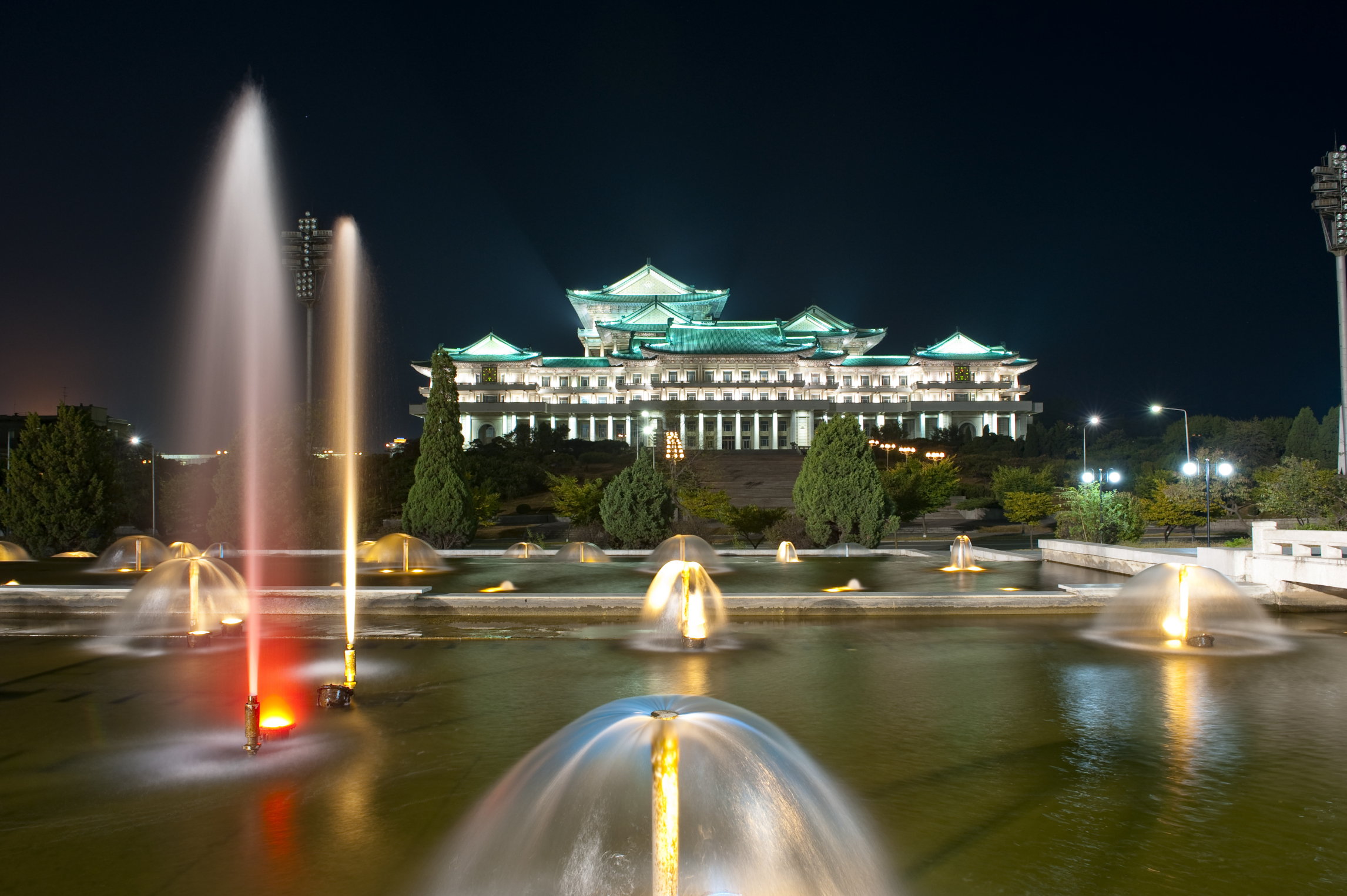 National Library of North Korea in Pyongyang