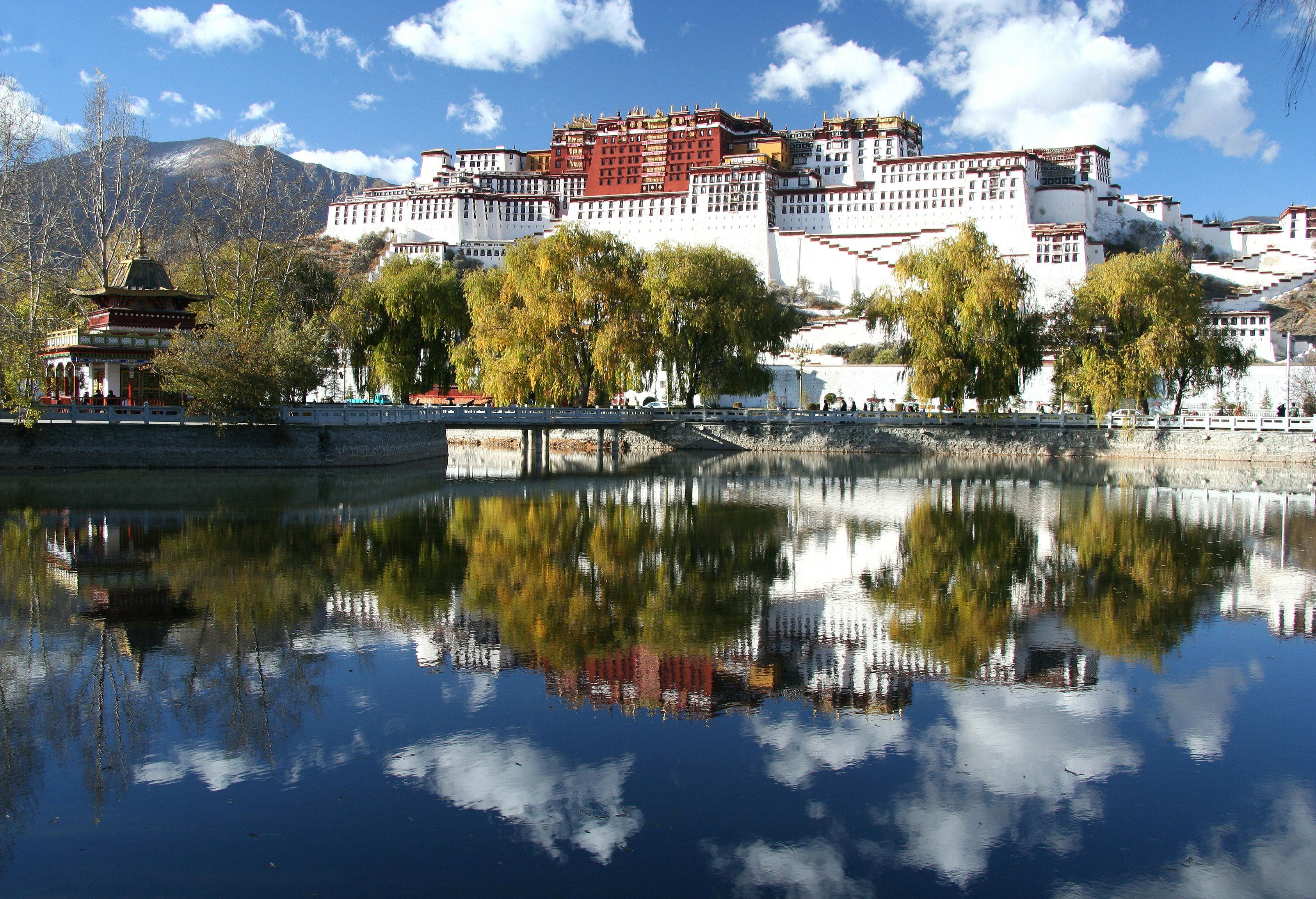 Potala, the Dalai Lama's residence