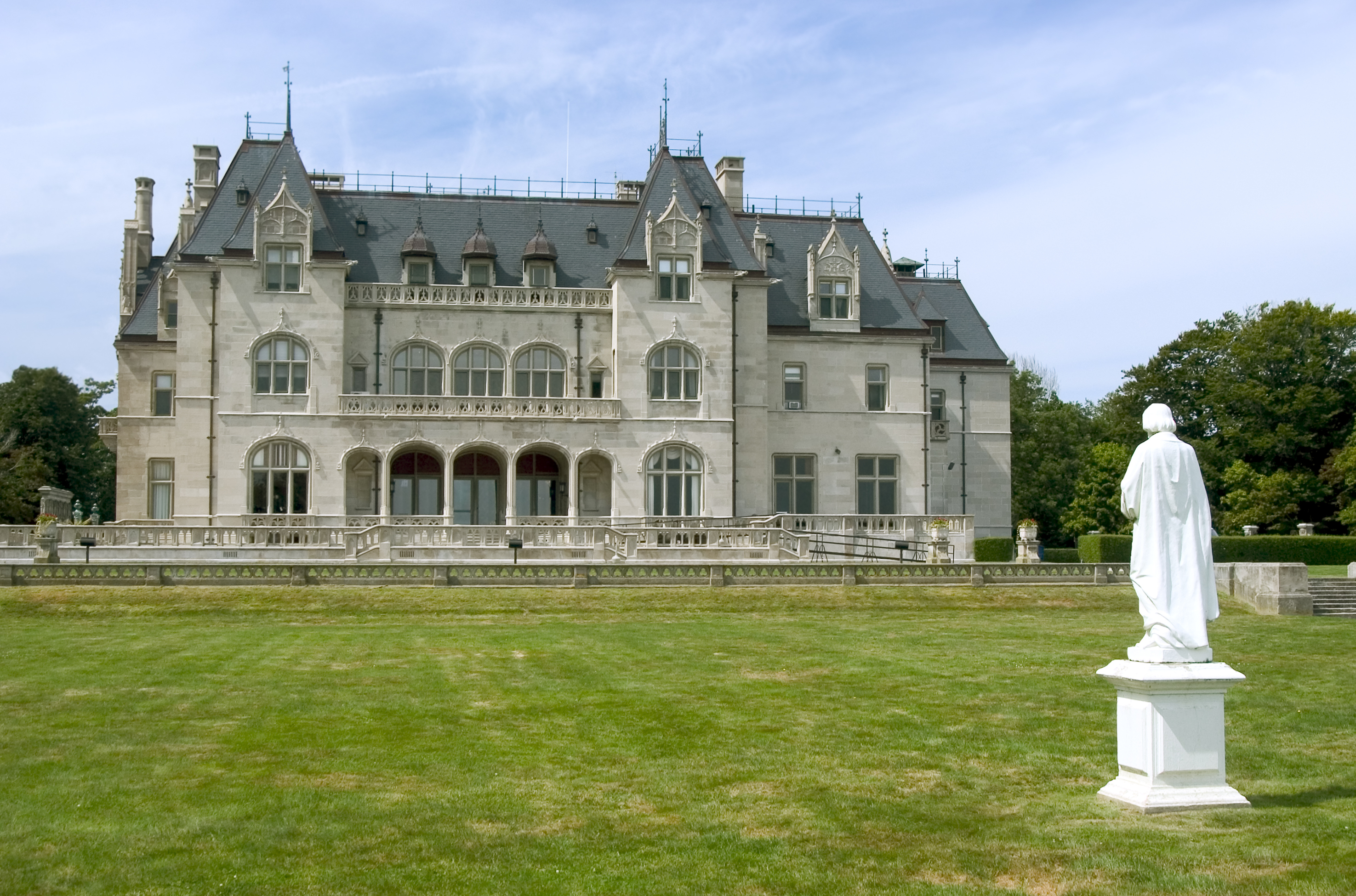 Rhode Island is famed for its many extavagant mansions