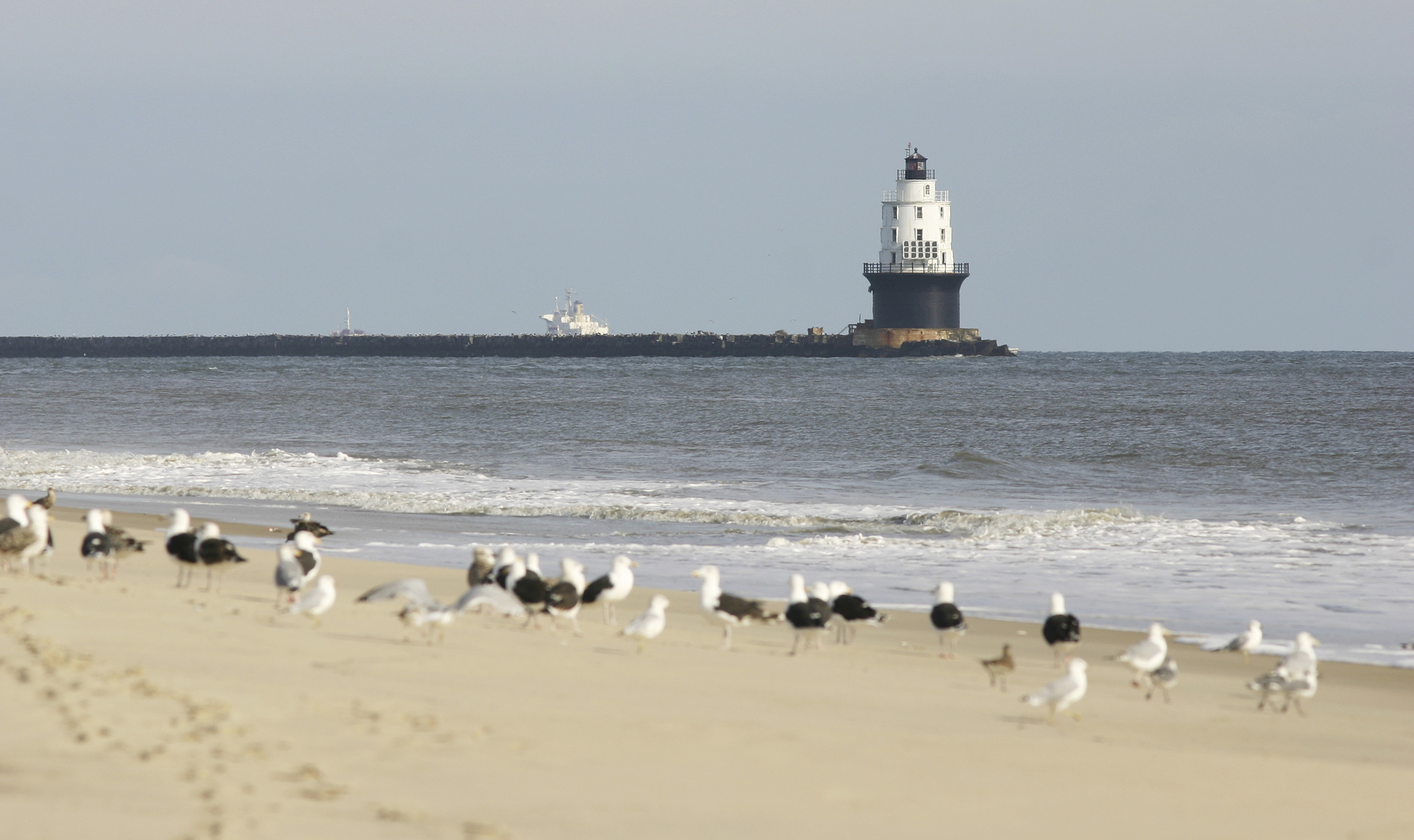 Lighthouse in Lewes, Delaware
