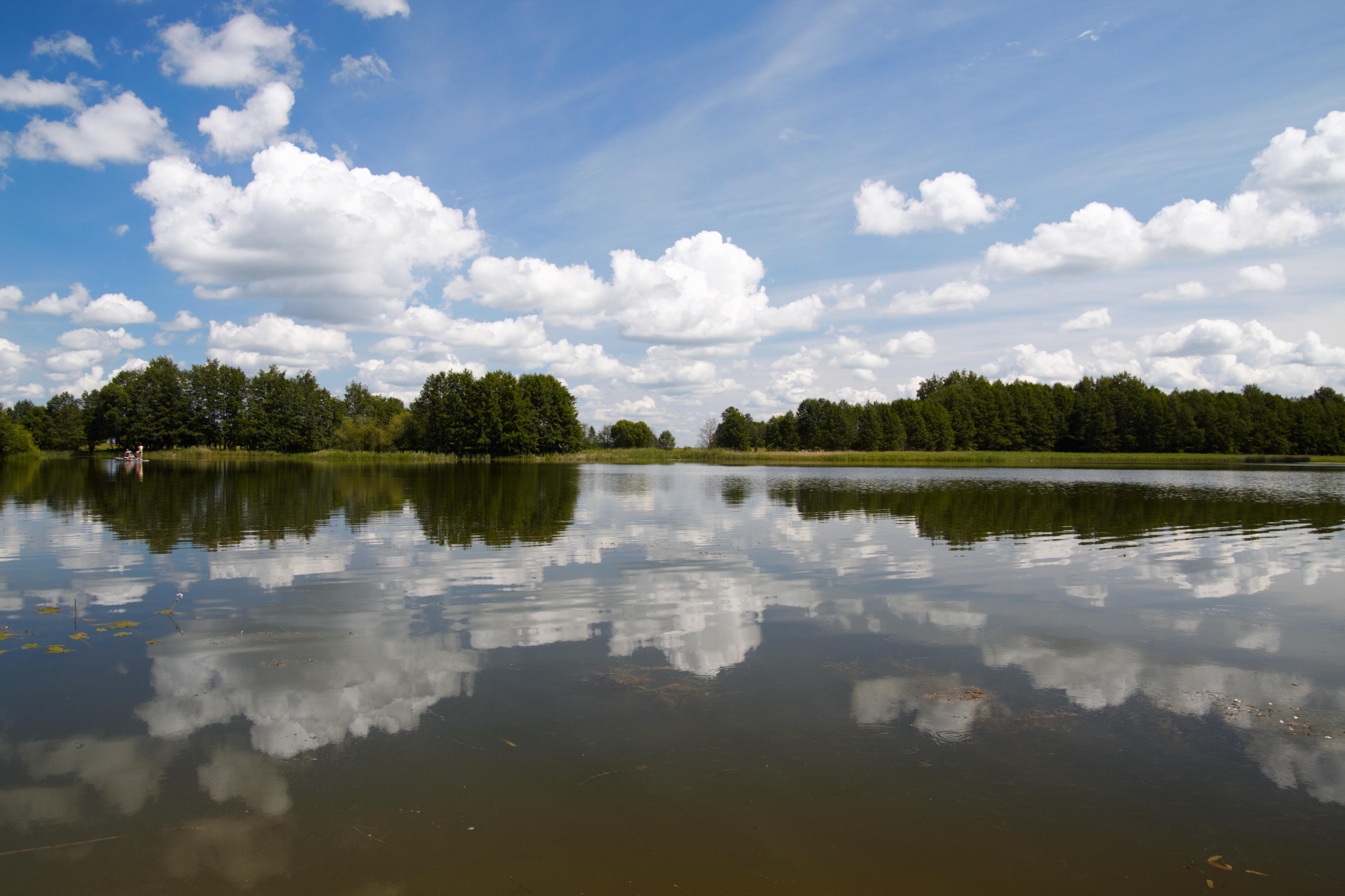 Lithuania has beautiful lakes