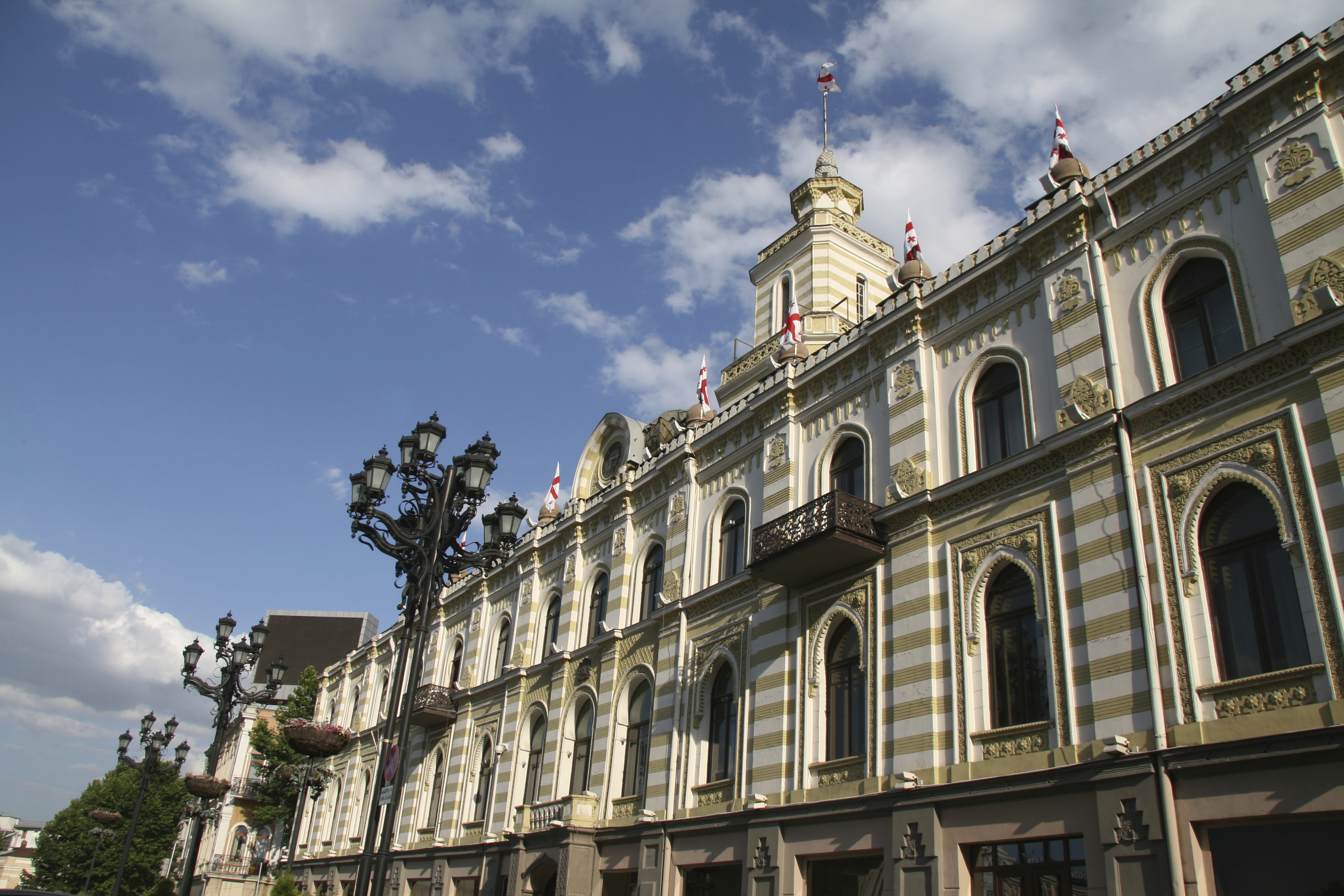 City hall of Tbilisi, Georgia