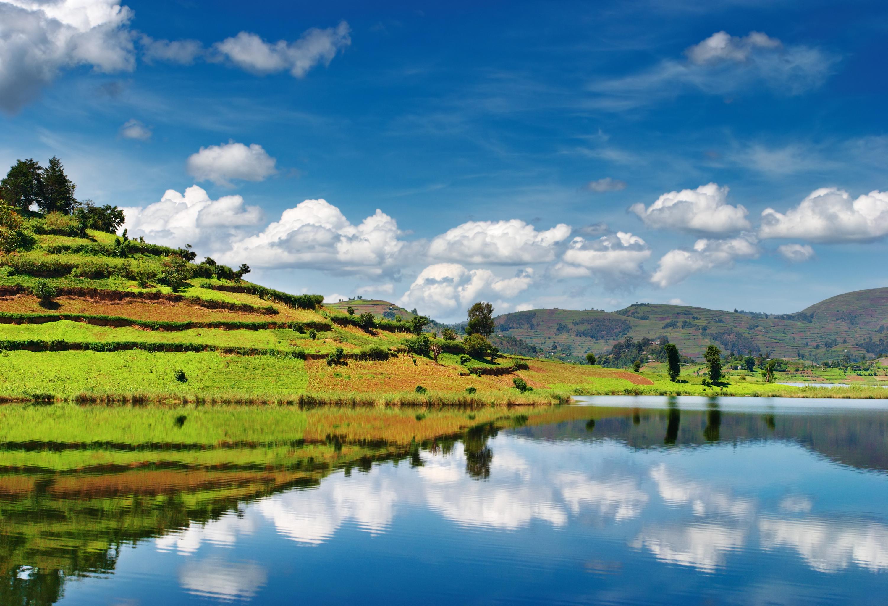 Beautiful Buyonyi Lake