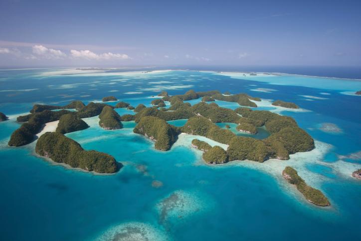 Palau's Seventy Islands, Pacific Islands of Micronesia