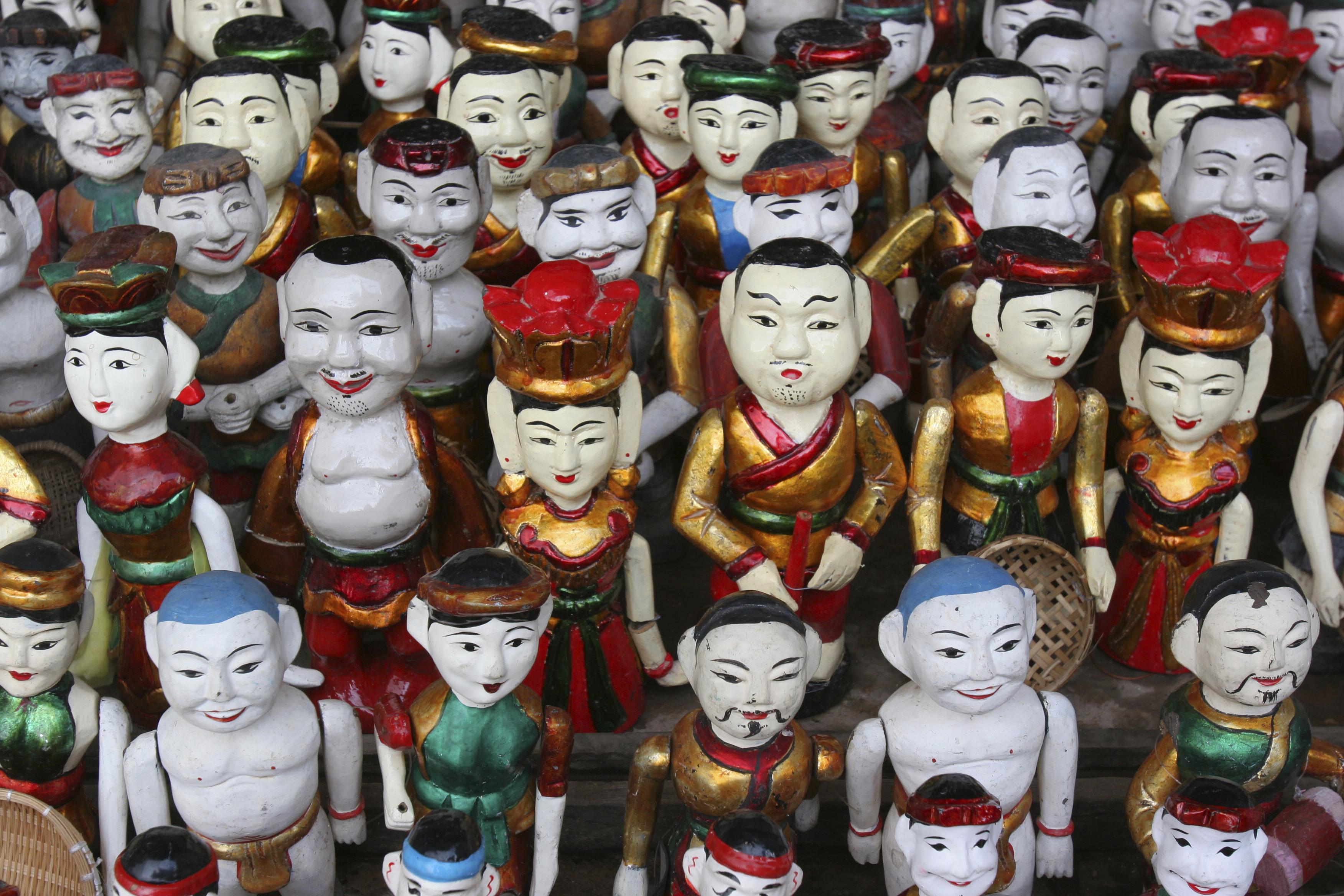 Vietnamese water puppets, Hanoi