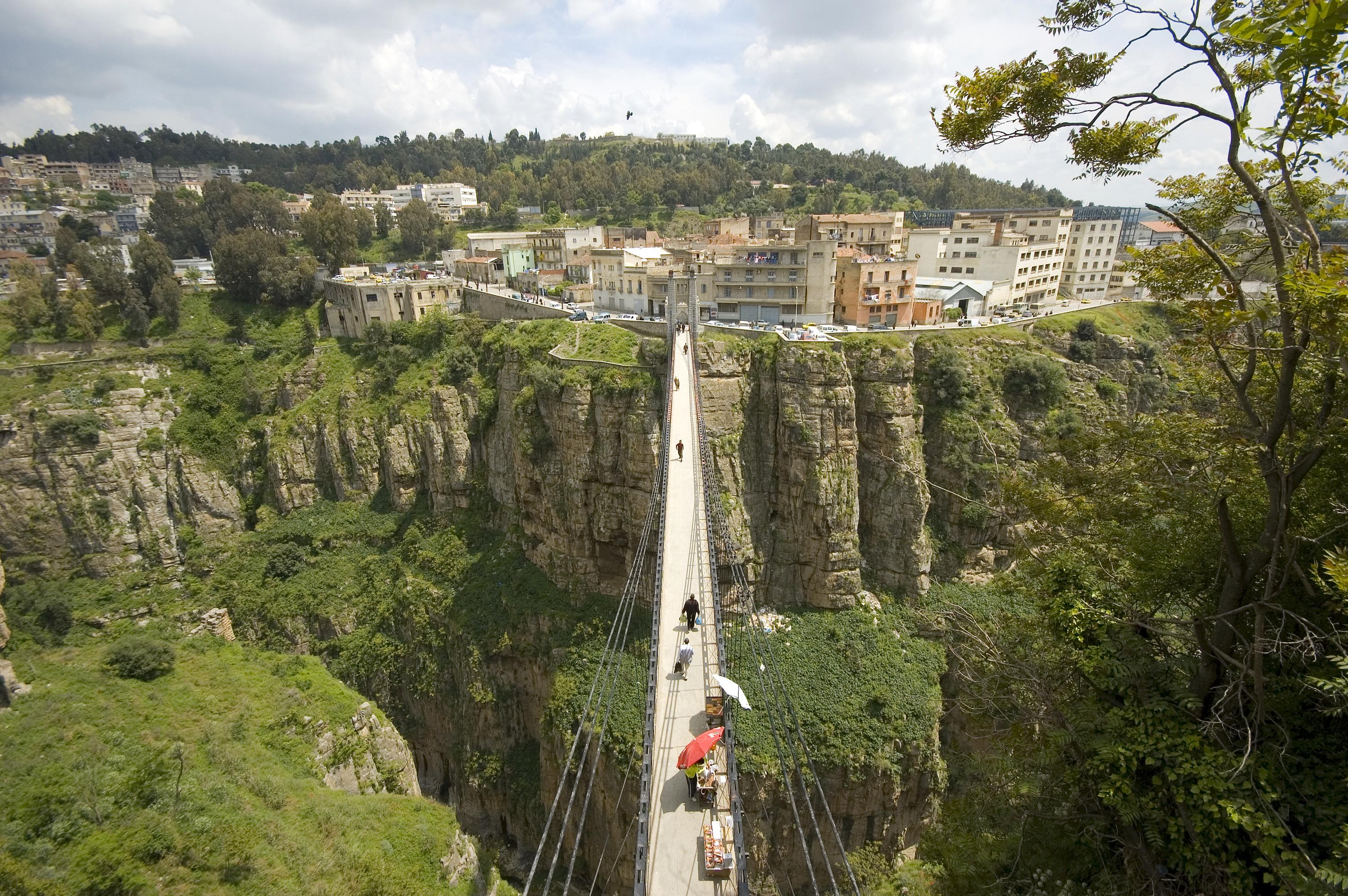 Constantine's gorges, Algeria