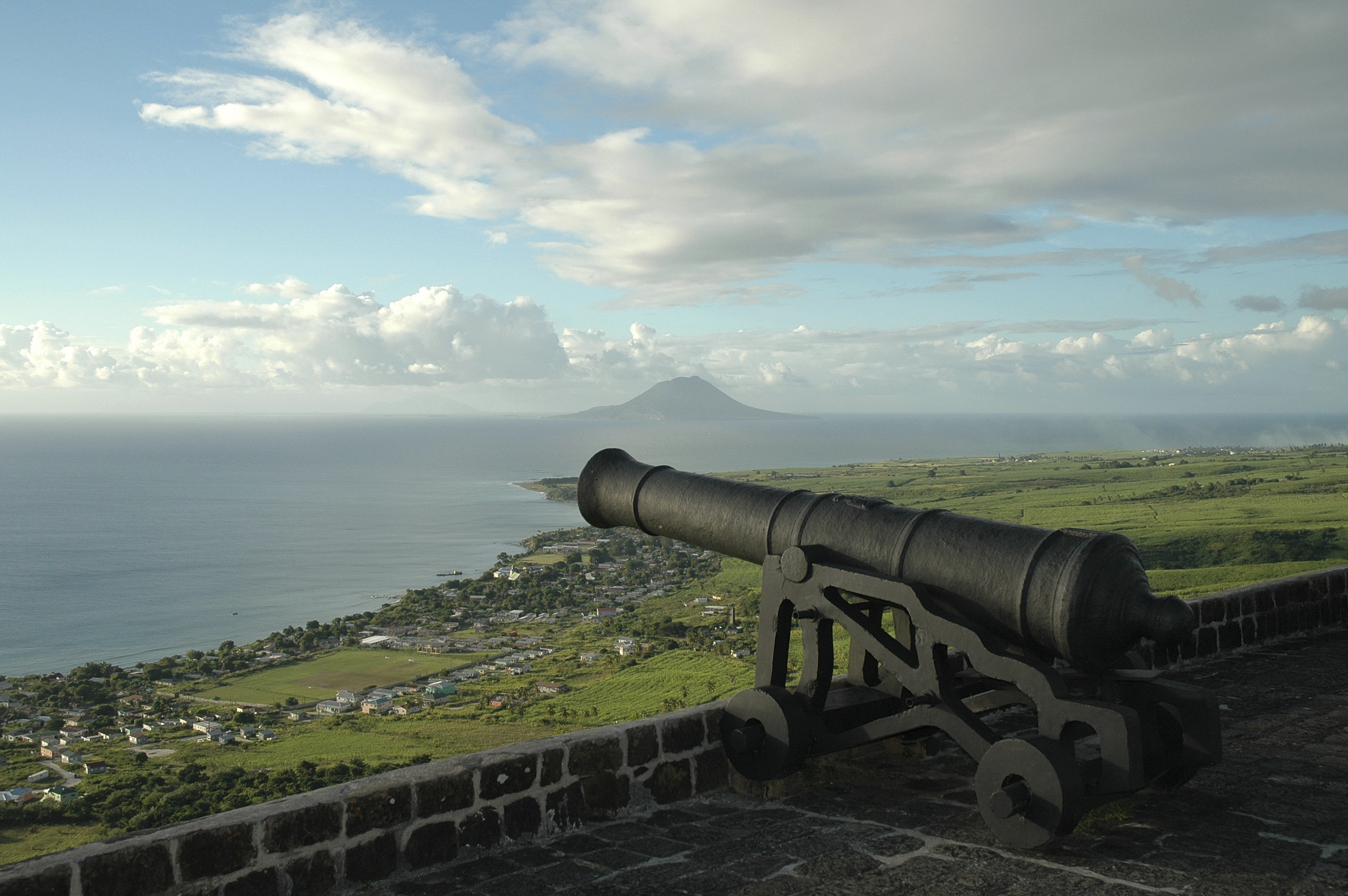 Cannon on Brimstone Hill, St Kitts