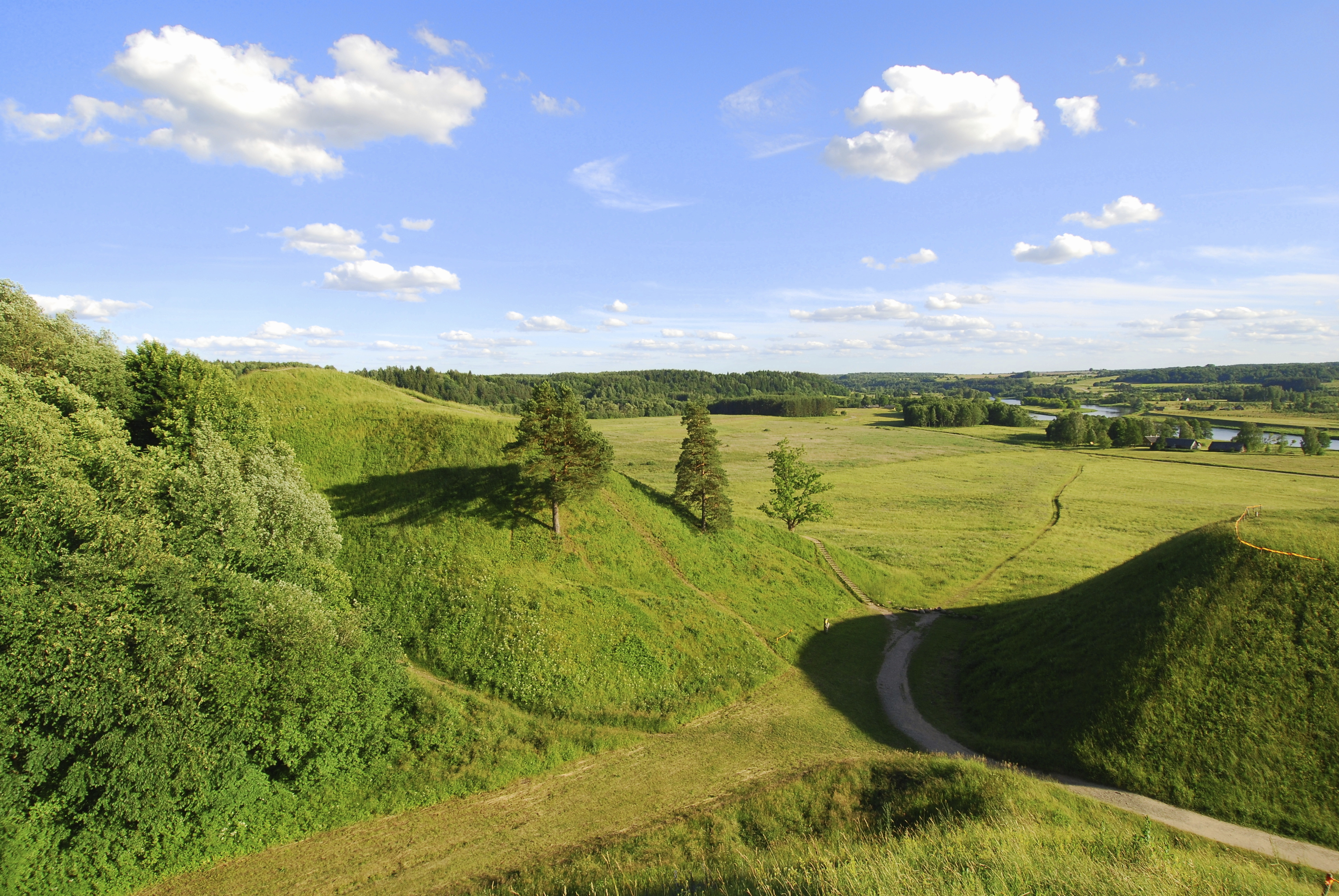 Kernave's strange mounds, Lithuania