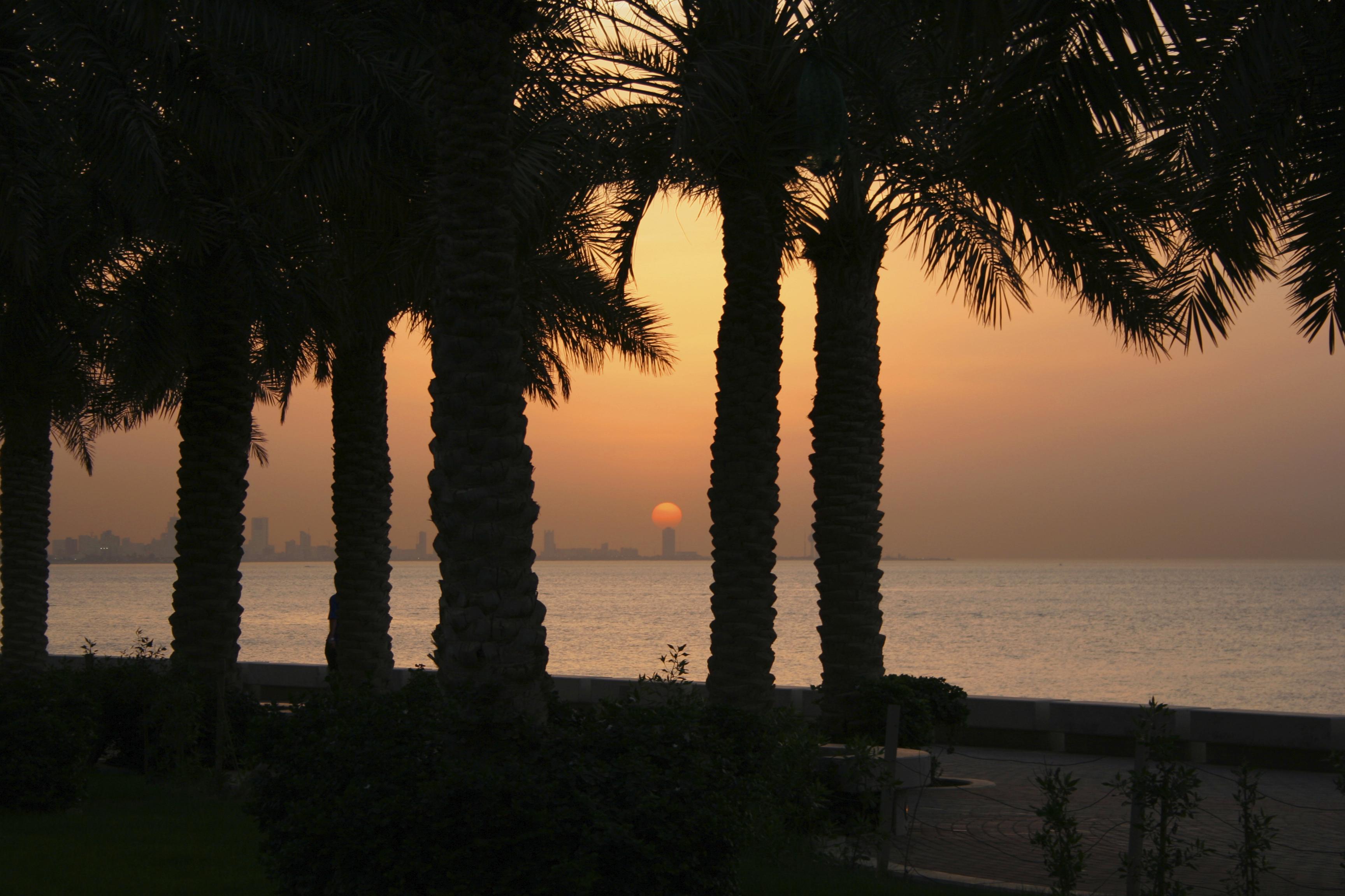 Arabian sunset, Kuwait