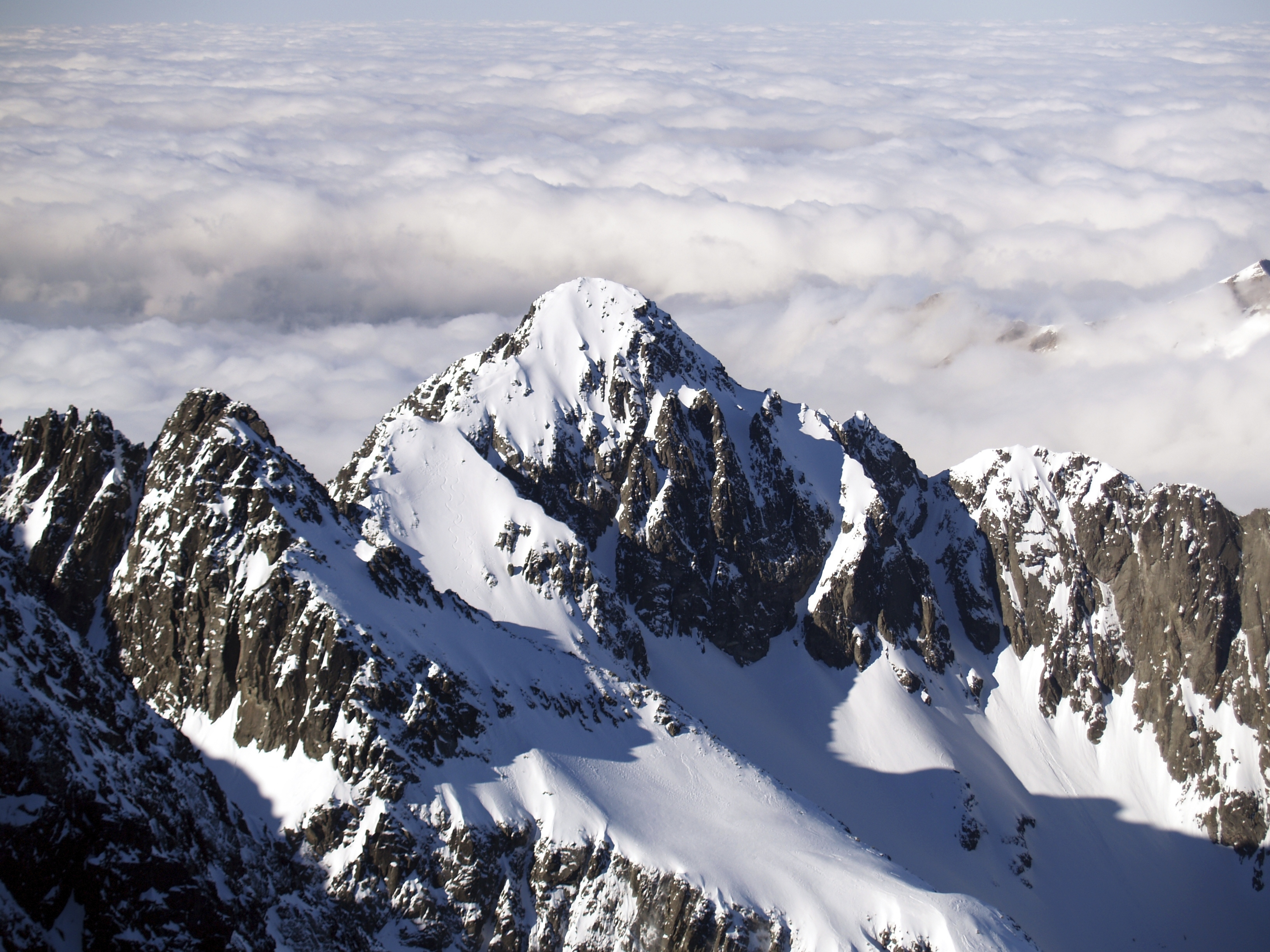 Slovakia's Tatra Mountains are popular with hikers and skiiers