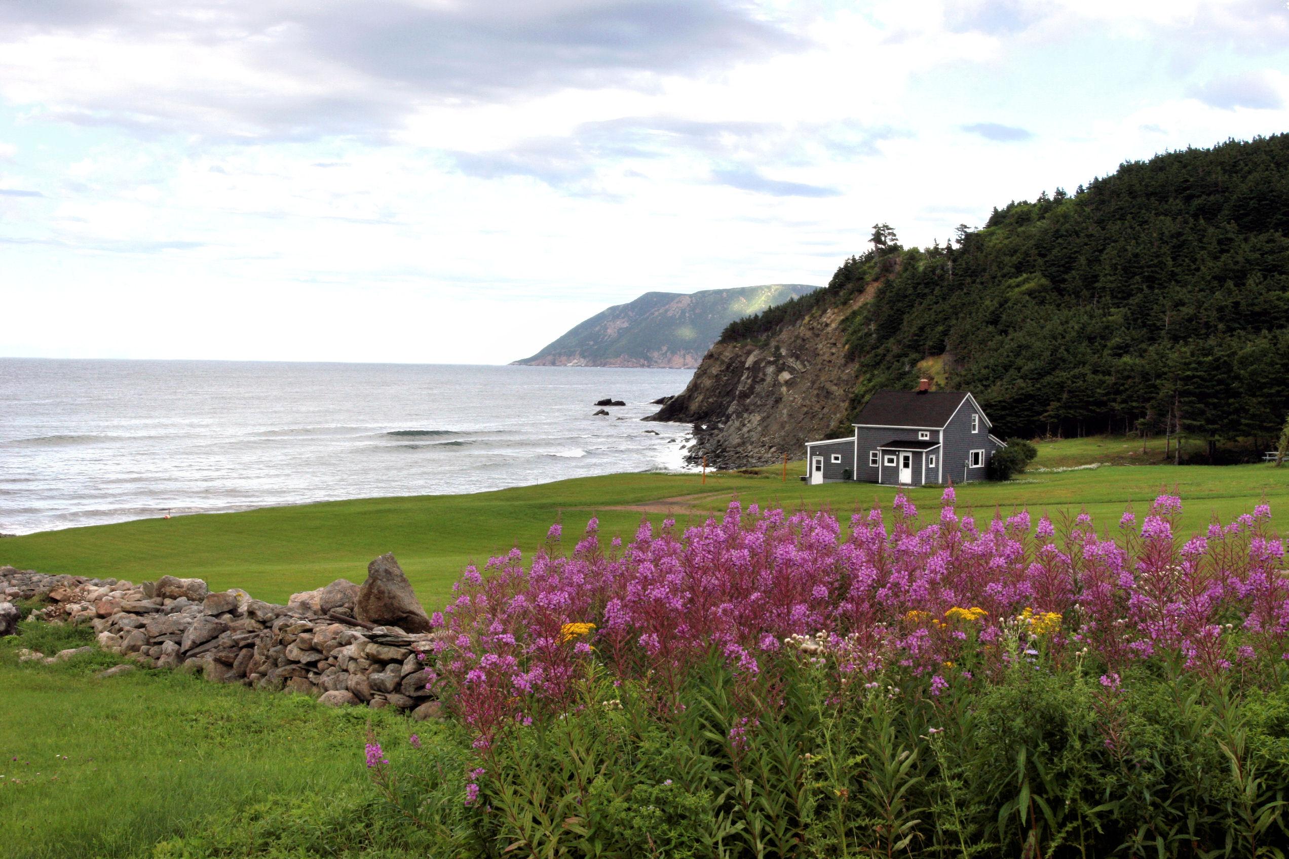 Cape Breton Island, Meat Cove area, Nova Scotia