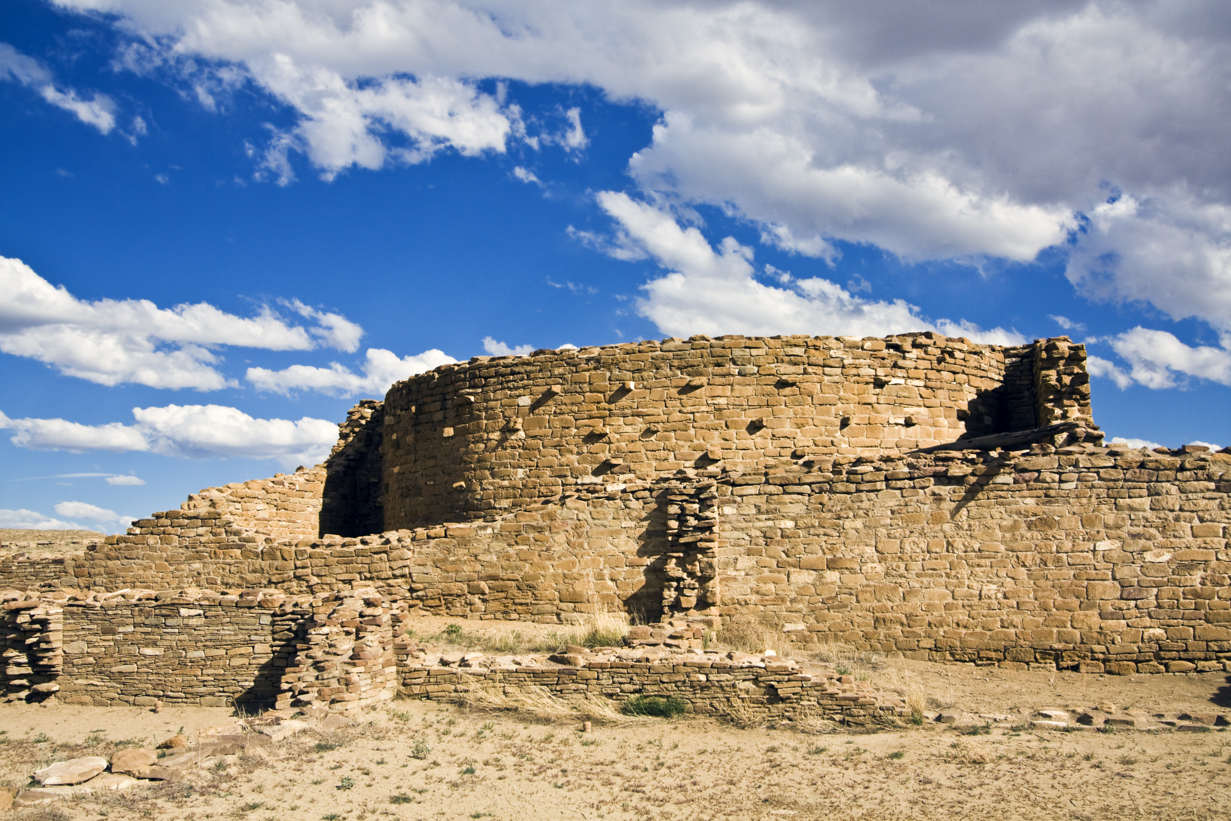 Ruins in Chaco culture, Paraguay