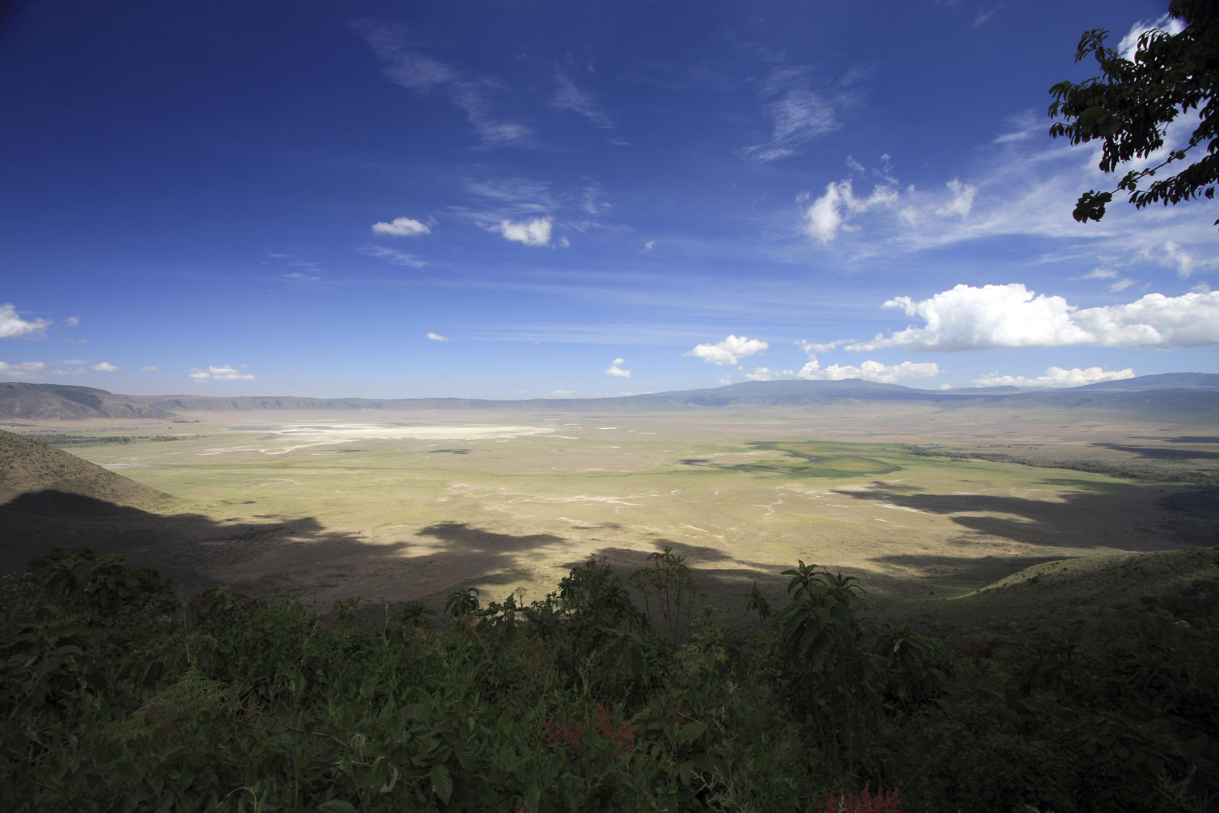 Ngorongoro Crater is a prime safari spot
