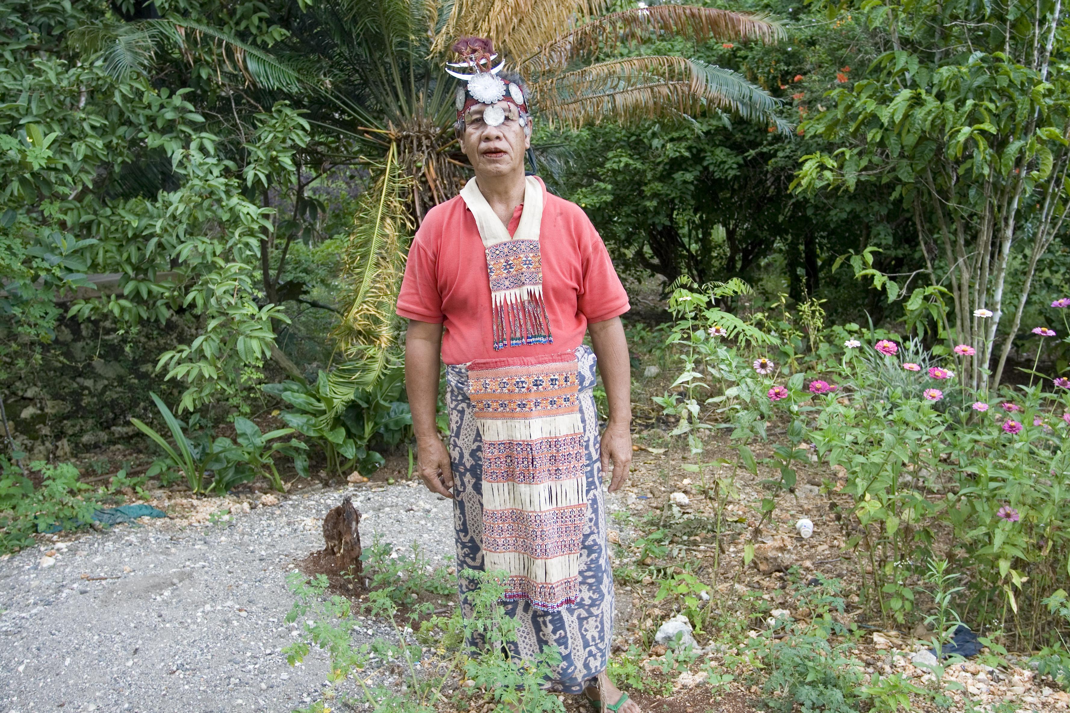 Traditional dress, East Timor