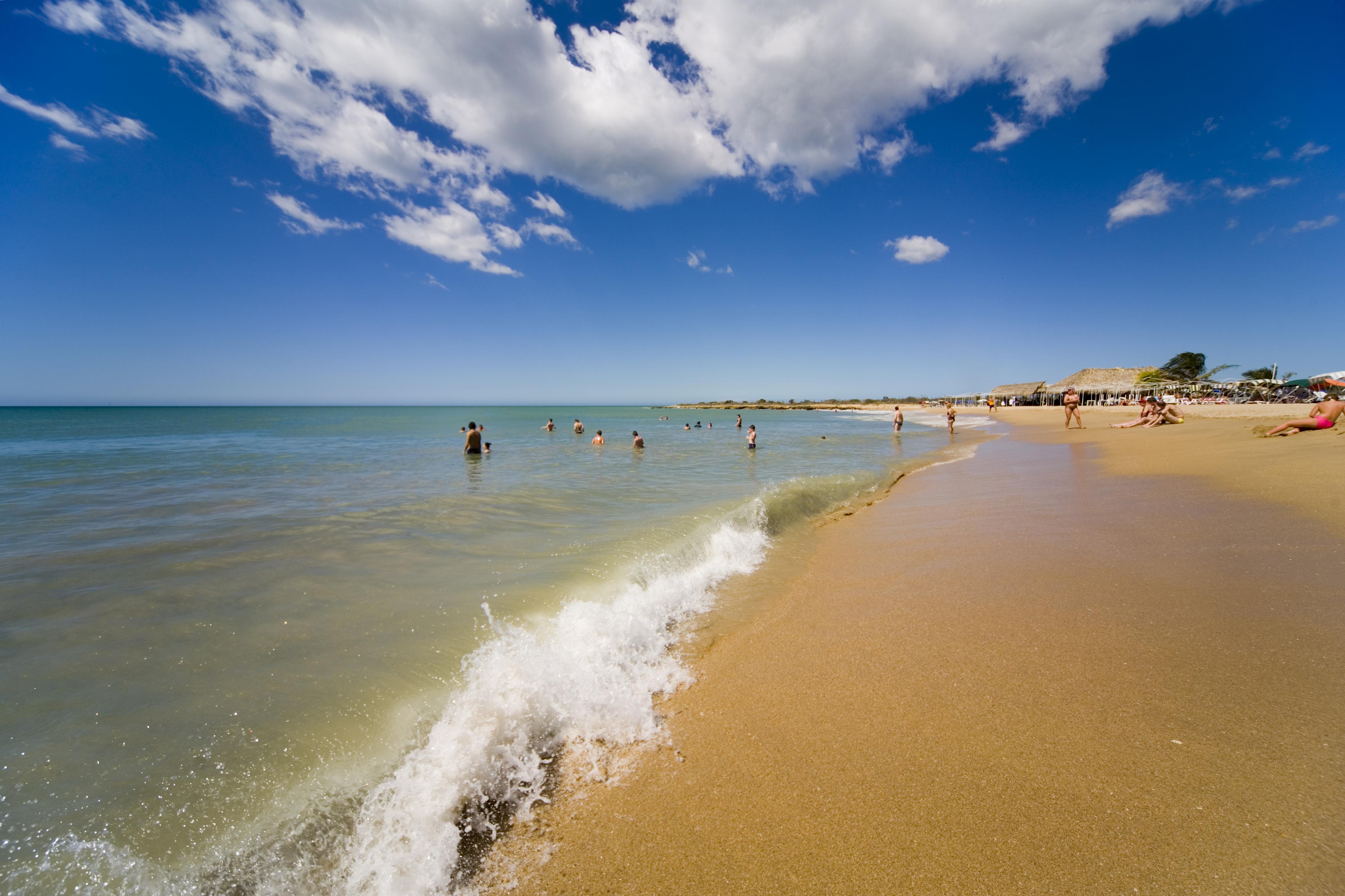 Beach on Margarita Island, Venezeula