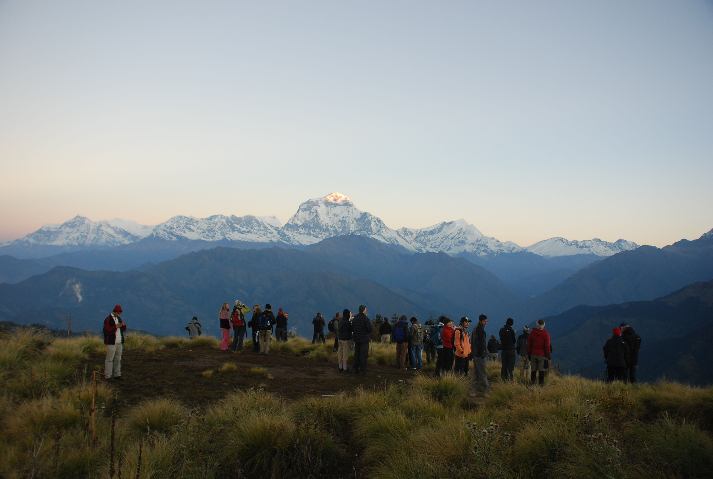 Sunrise from Poon Hill, Annapurna, Nepal