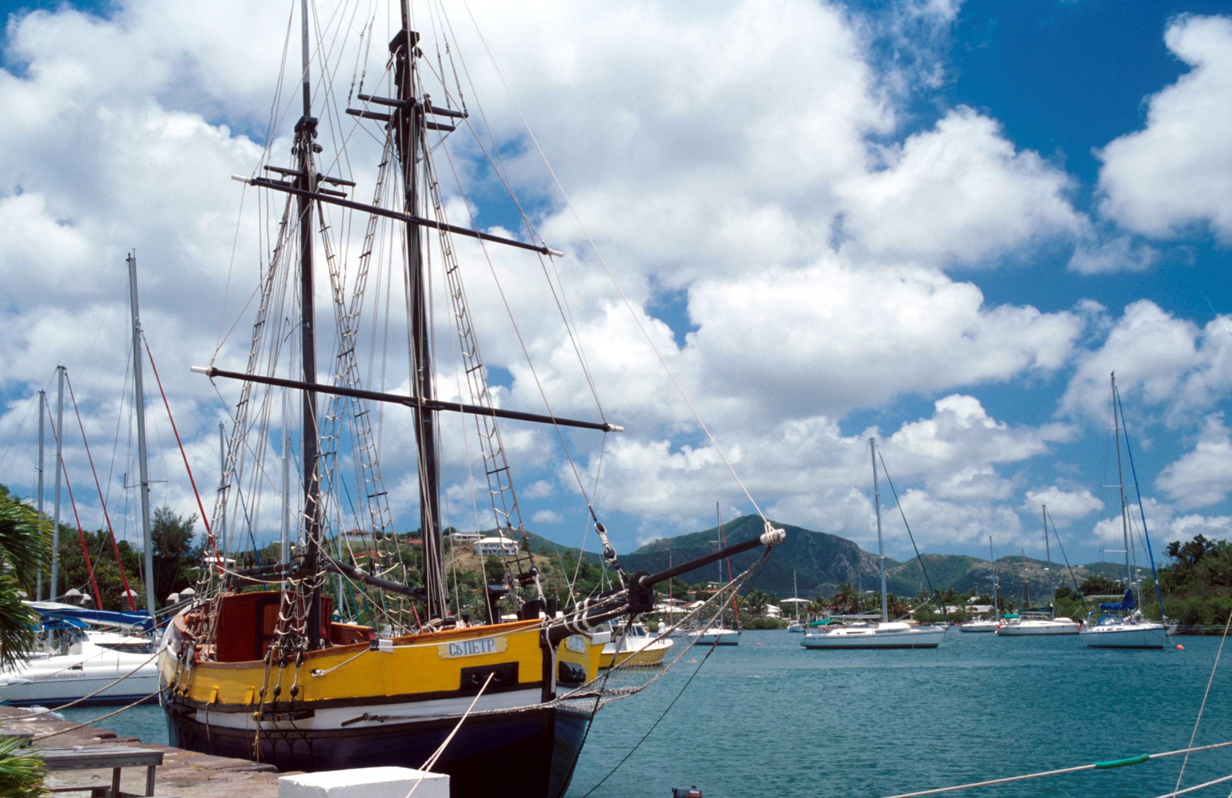 Nelsons dockyard, Antigua