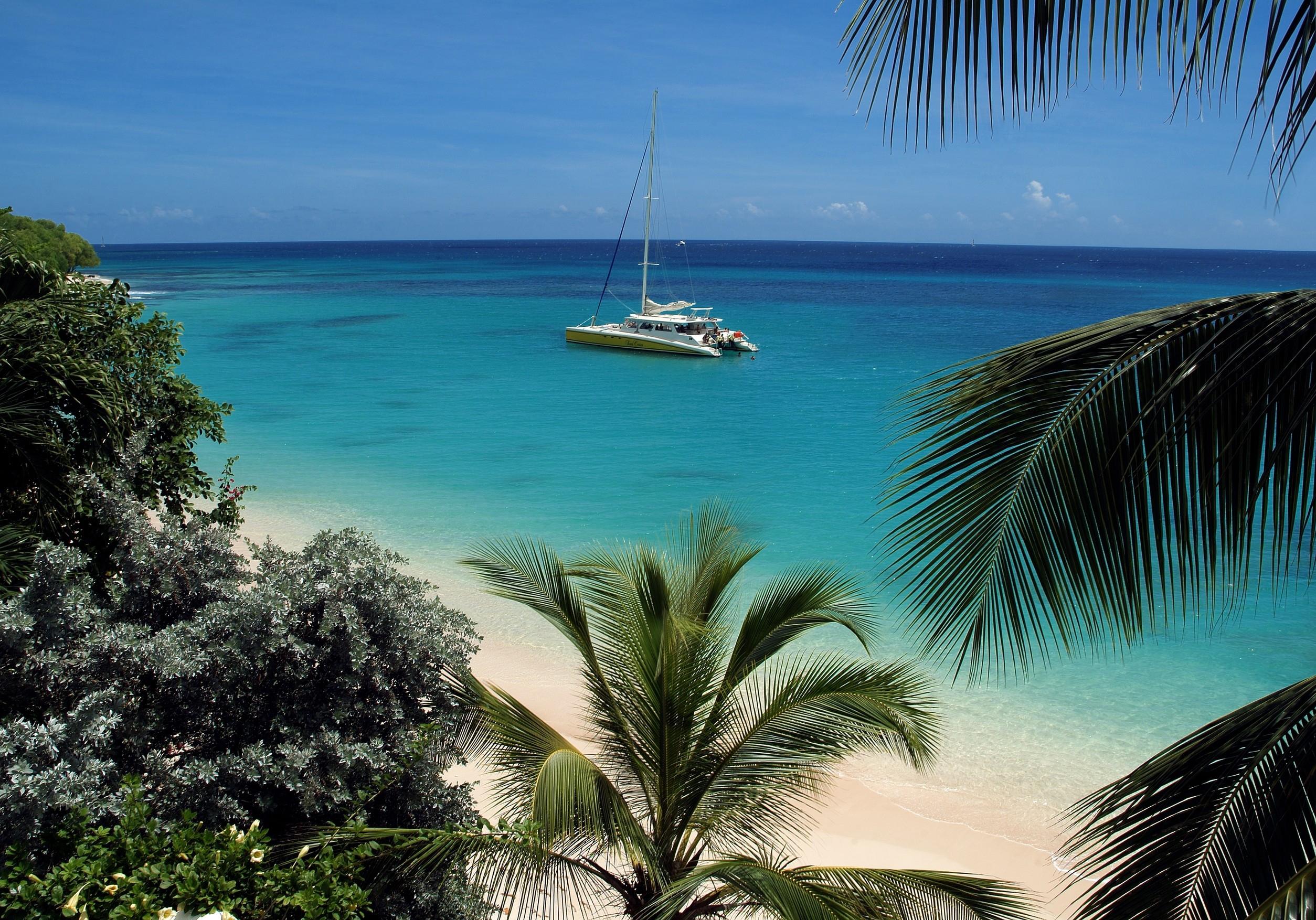 Catamaran trip in Barbados