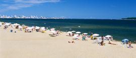 Punta del Este beach, Uruguay