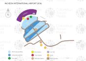 Seoul Incheon International Airport map
