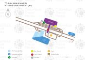 Tehran Imam Khomeini International Airport map