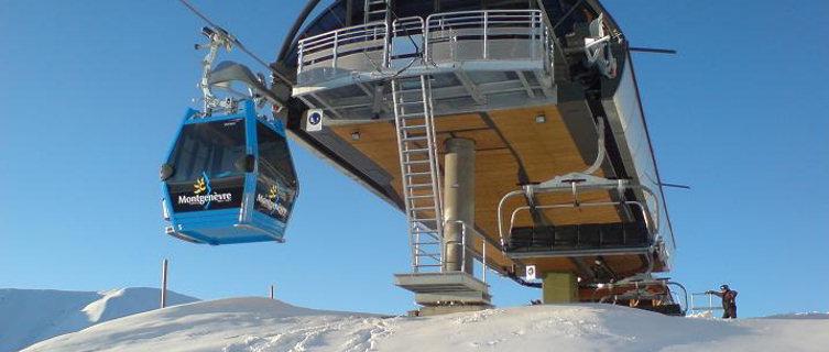 Reach the summit by gondola